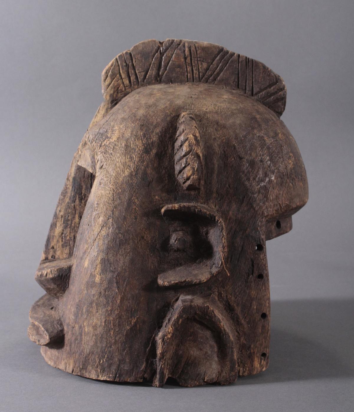 Antike Helmmaske der Dogon, Mali, 1. Hälfte 20. Jh.-3