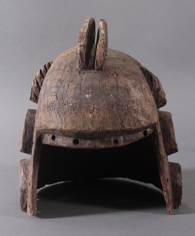 Antike Helmmaske der Dogon, Mali, 1. Hälfte 20. Jh.-4