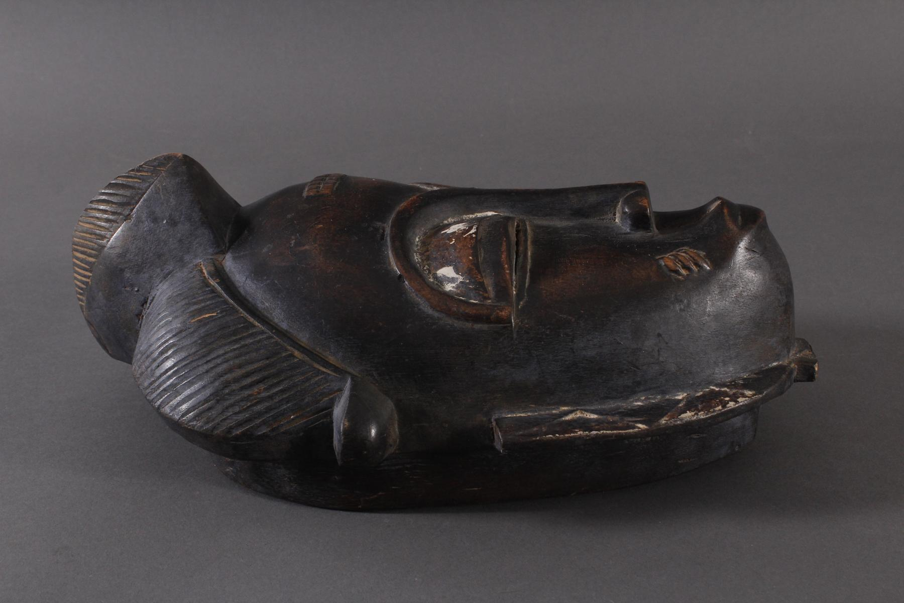 Antike Maske, Baule, Elfenbeinküste-2