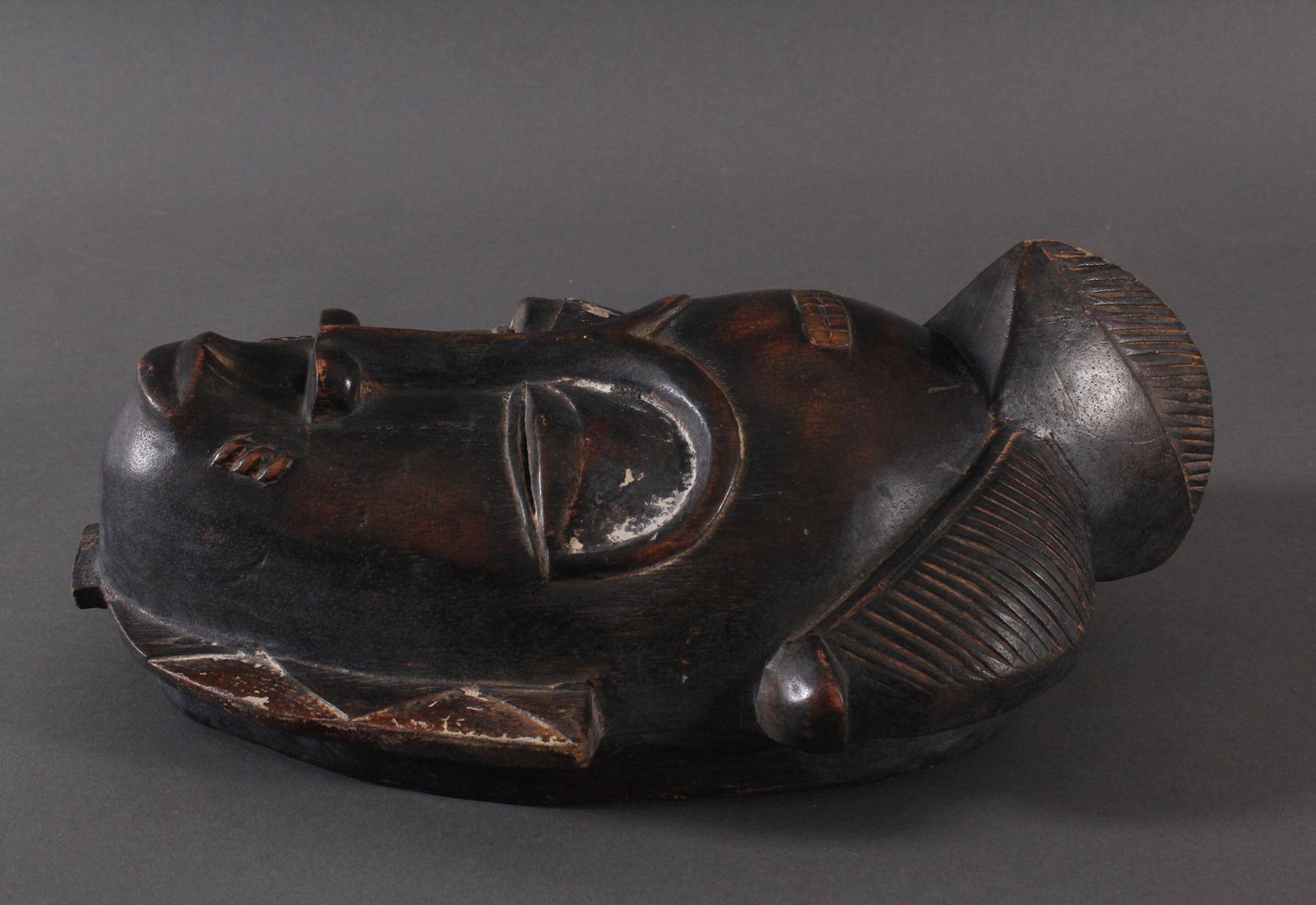 Antike Maske, Baule, Elfenbeinküste-3