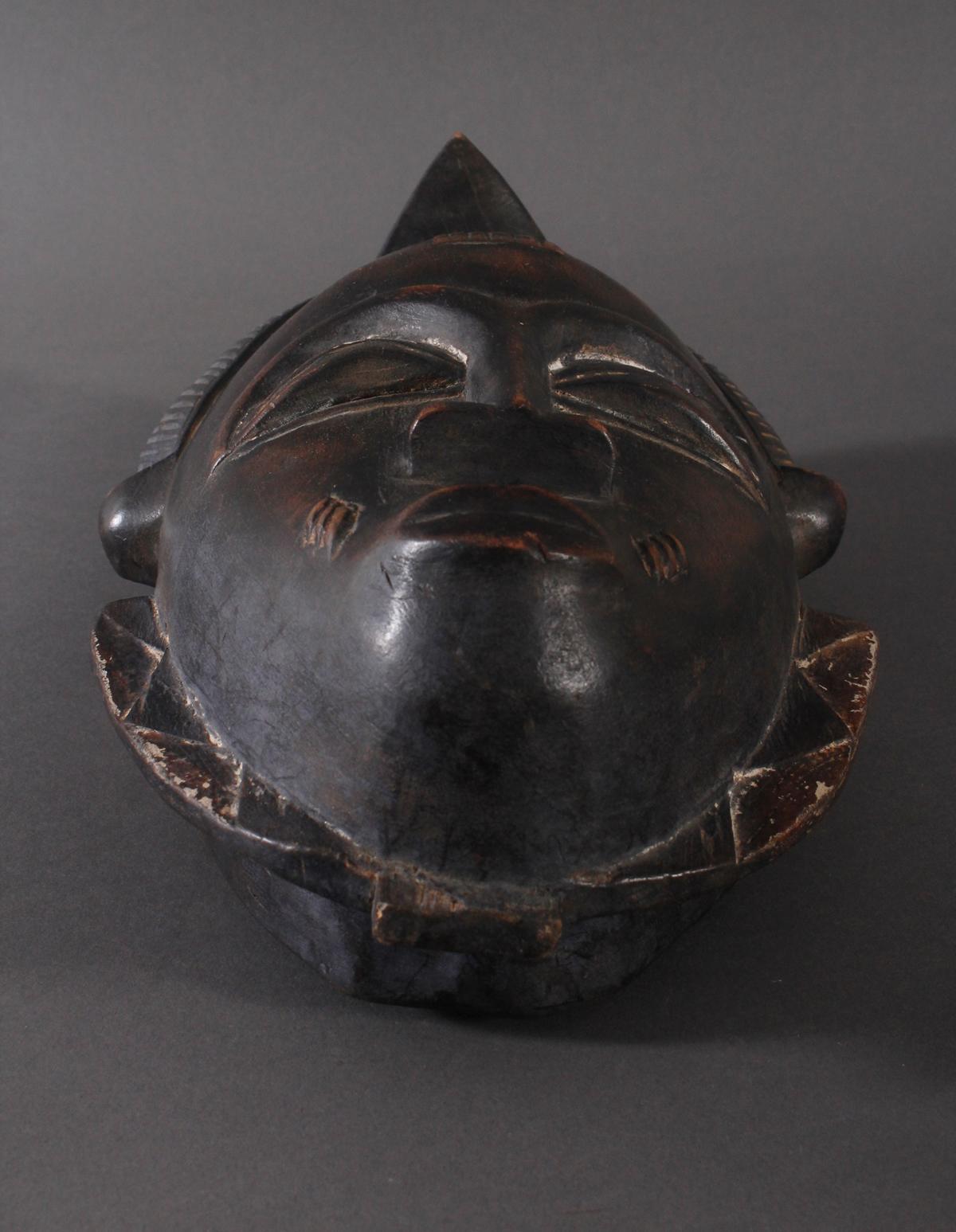 Antike Maske, Baule, Elfenbeinküste-4