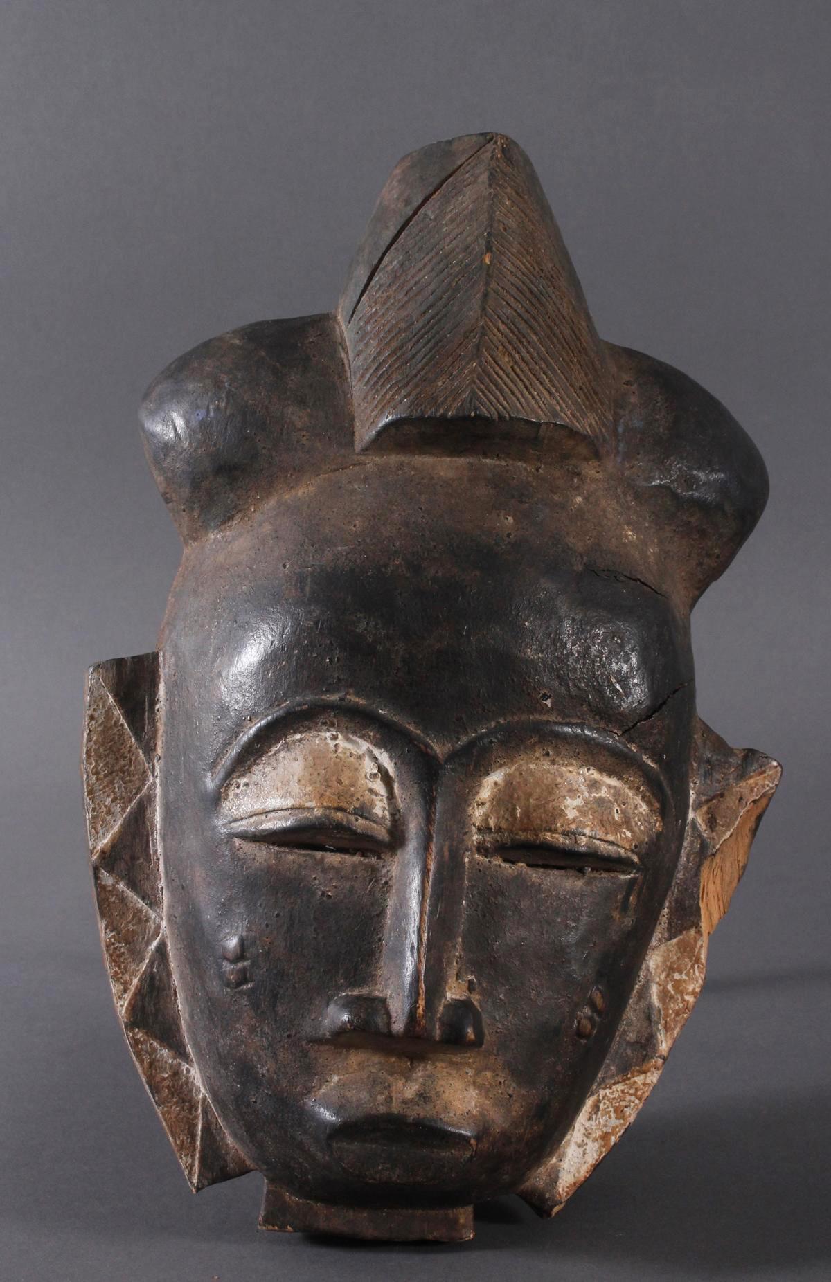 Antike Maske, Baule, Elfenbeinküste