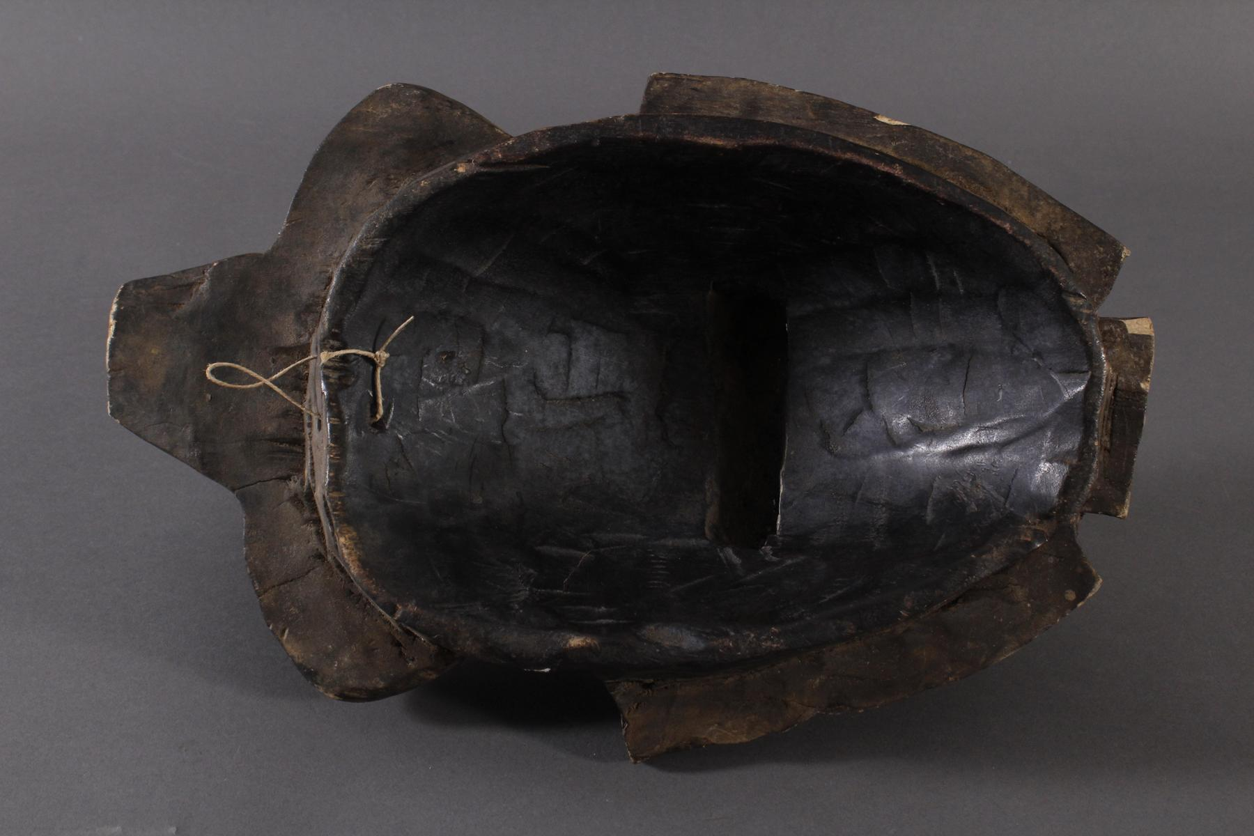 Antike Maske, Baule, Elfenbeinküste-6