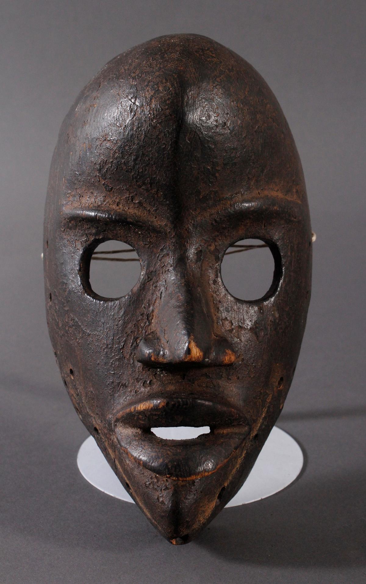 Antike Maske, Dan, Liberia. 'Feuermelder'