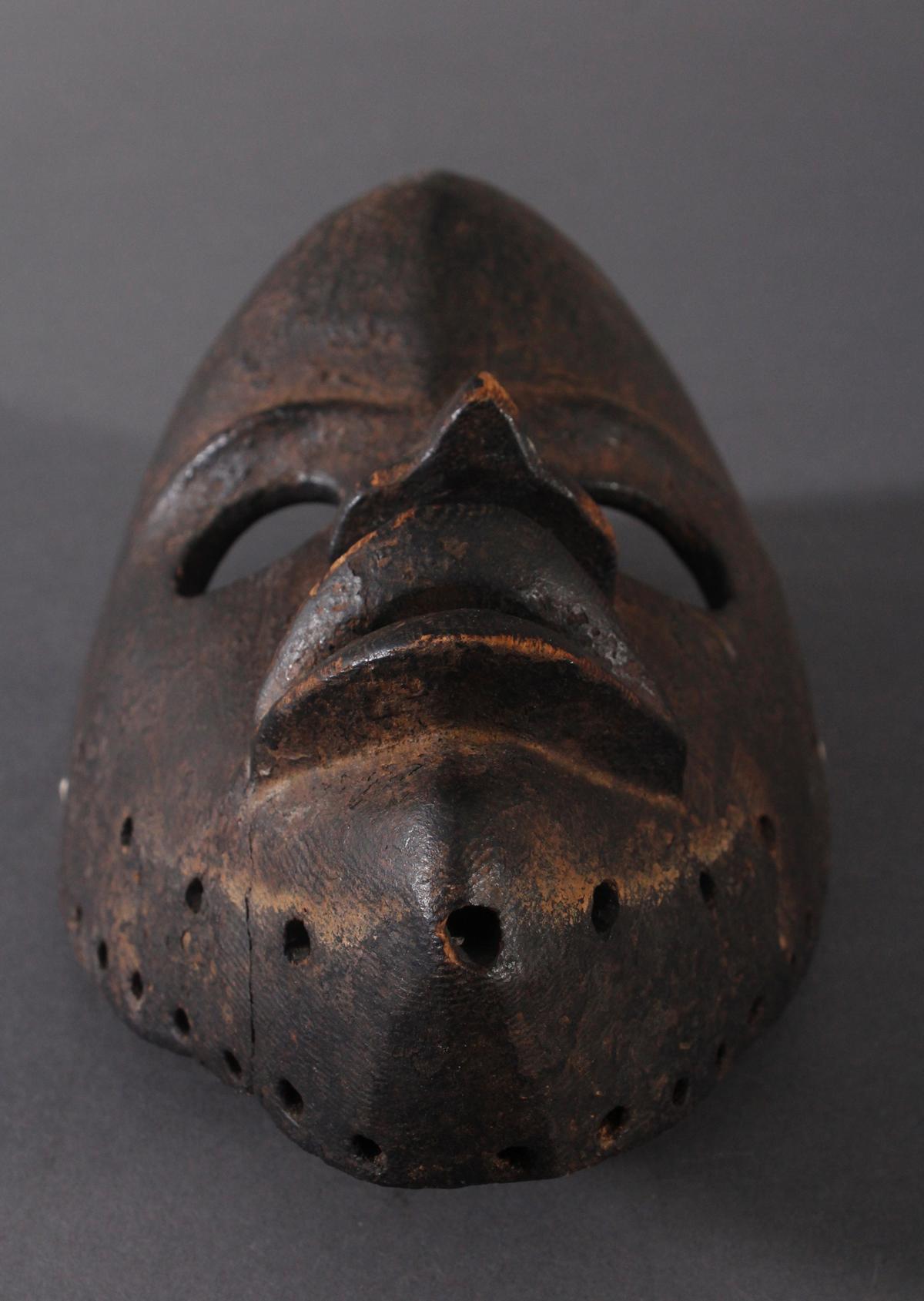 Antike Maske, Dan, Liberia. 'Feuermelder'-4