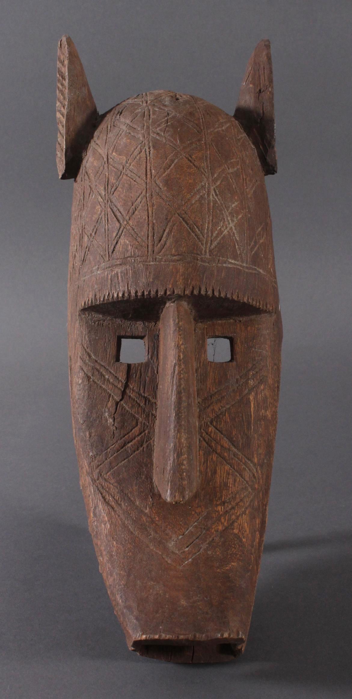 Antike  Suruku-Maske, Bambara, Mali