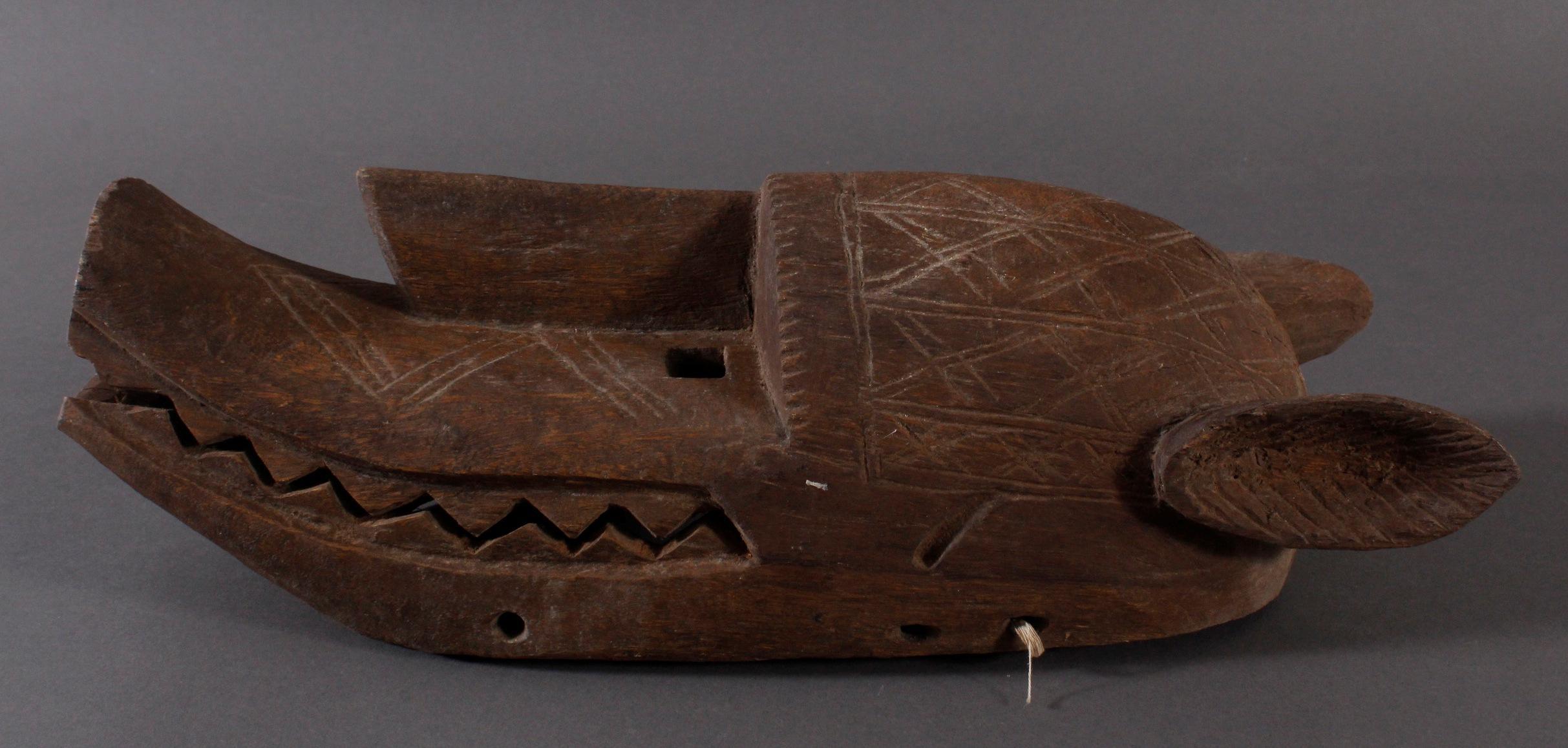 Antike  Suruku-Maske, Bambara, Mali-3