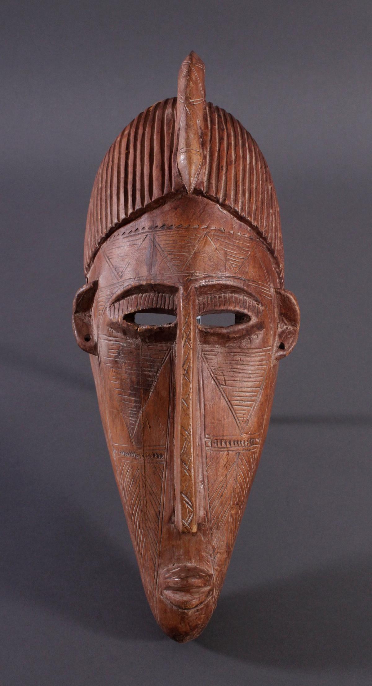 Maske der Bambara, Mali 1. Hälfte 20. Jh.