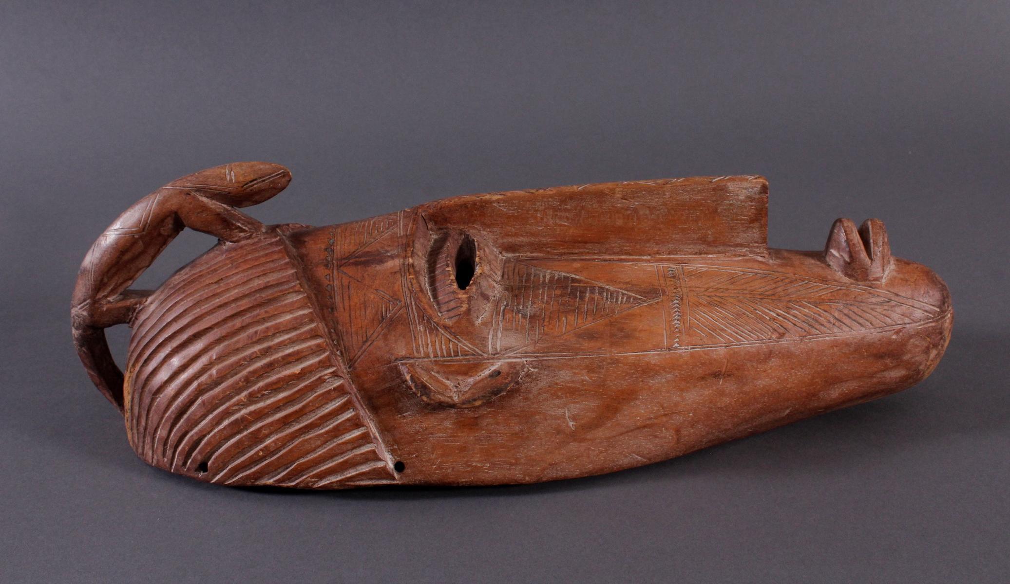 Maske der Bambara, Mali 1. Hälfte 20. Jh.-2