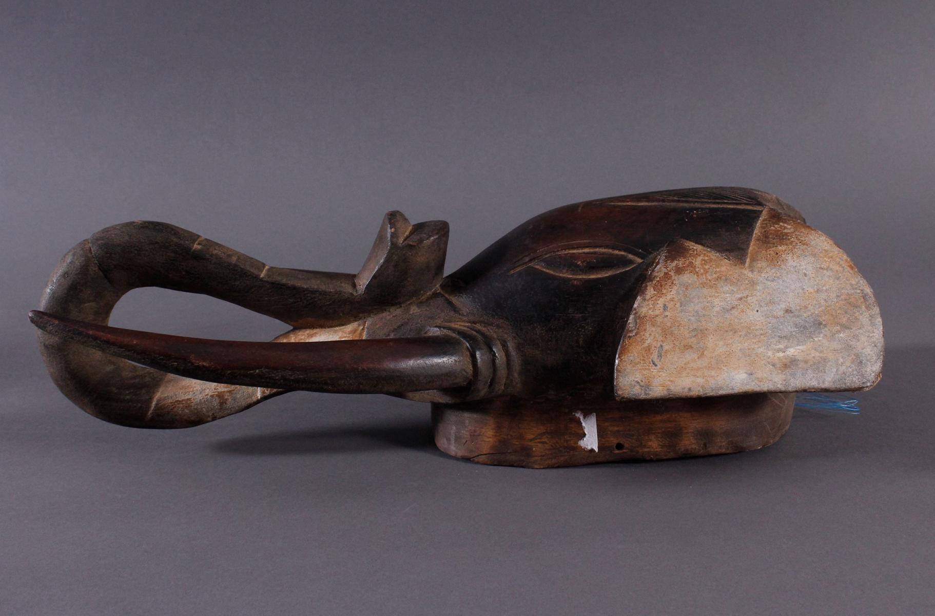 Antike Zoomorphe Maske, Elefant, Gouro-3