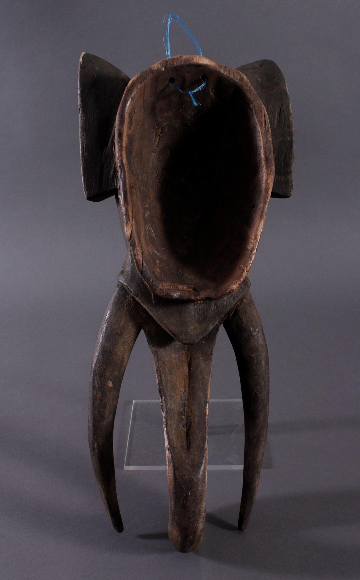 Antike Zoomorphe Maske, Elefant, Gouro-5