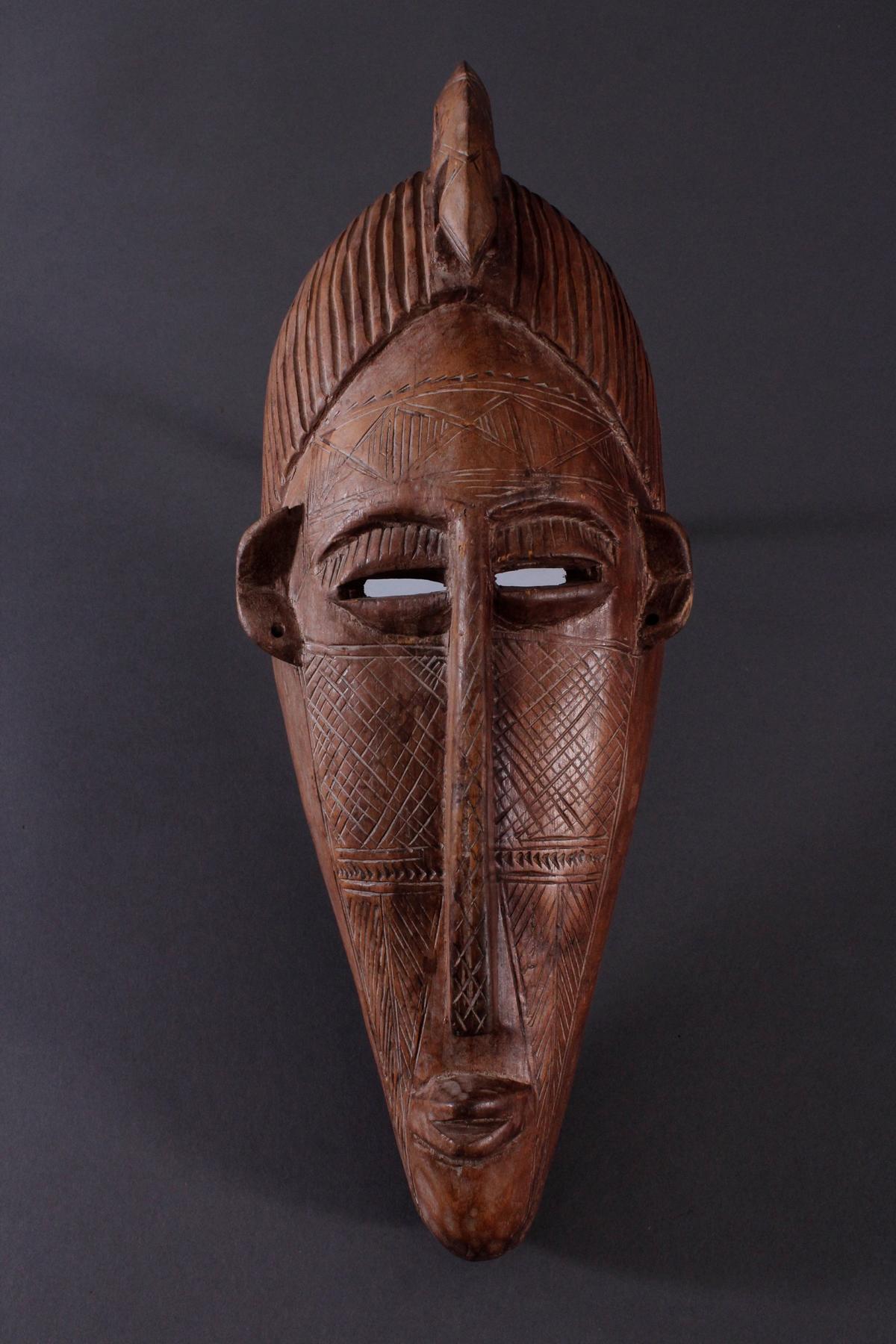 Antike Maske, Bambara, Mali