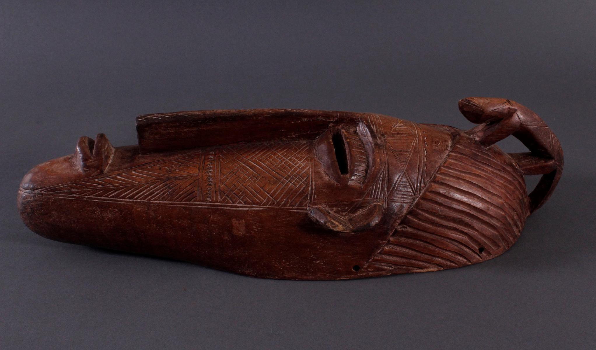 Antike Maske, Bambara, Mali-3