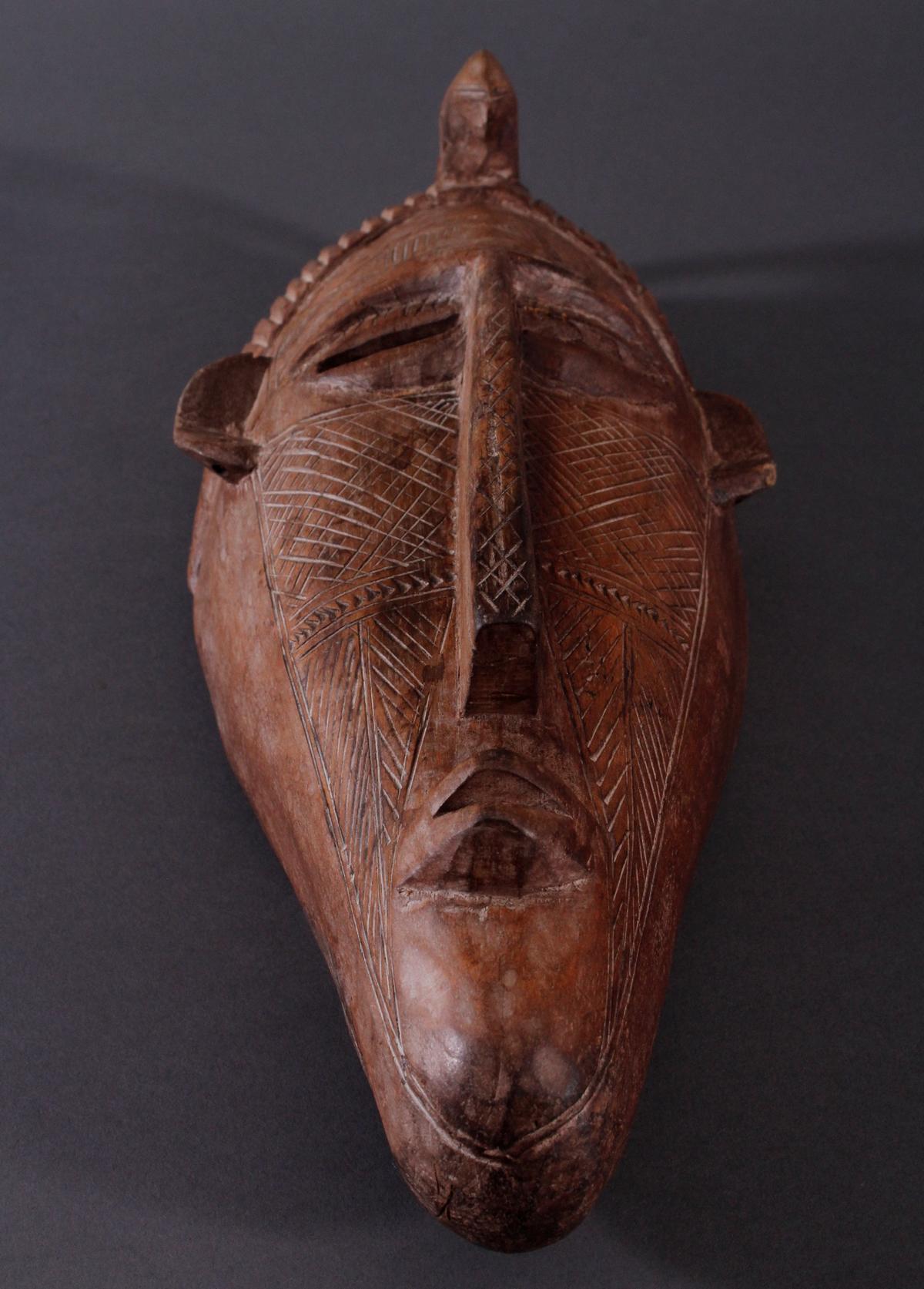 Antike Maske, Bambara, Mali-5