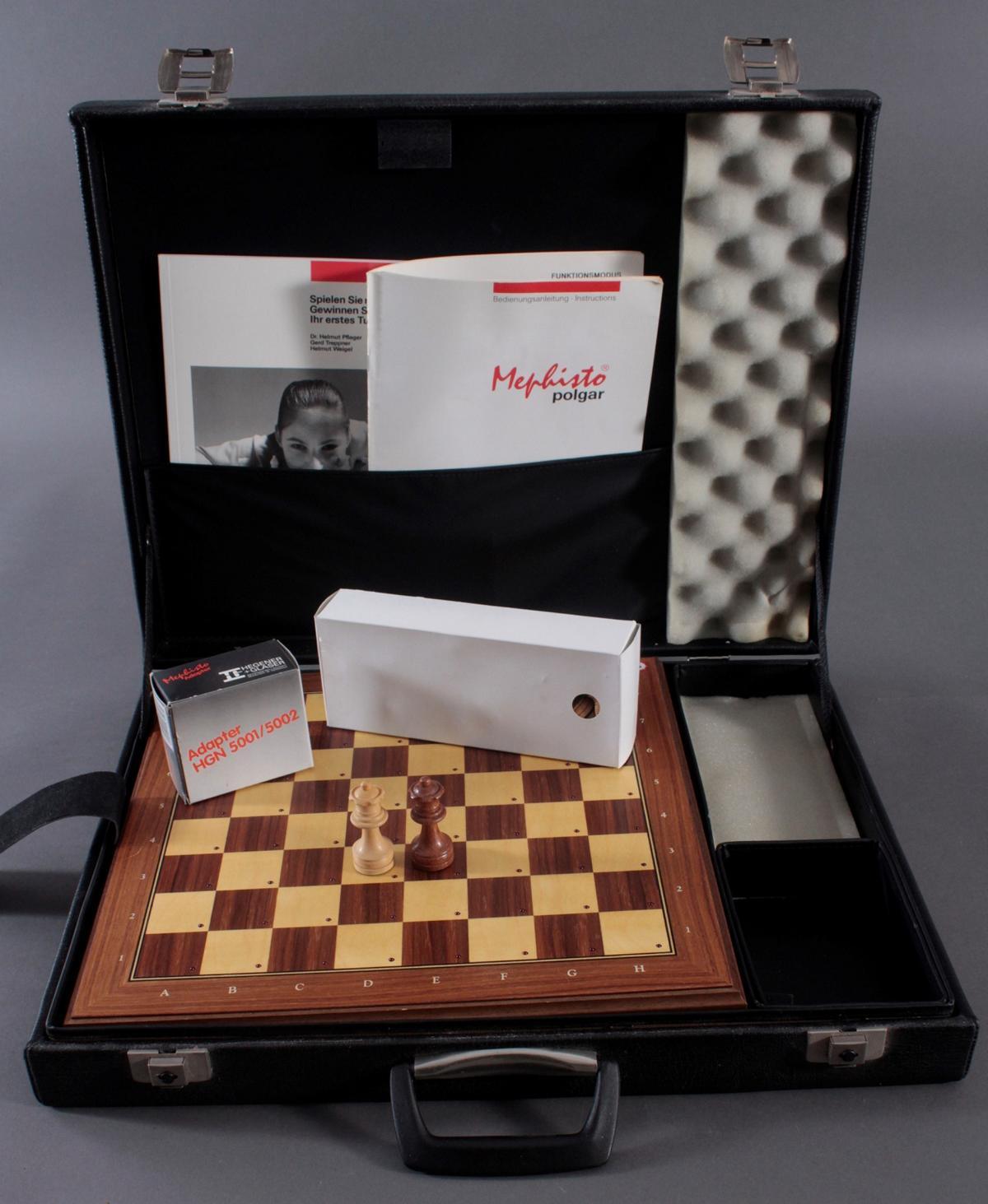 Schachcomputer Mephisto Exclusiv aus den 1990er Jahren-2