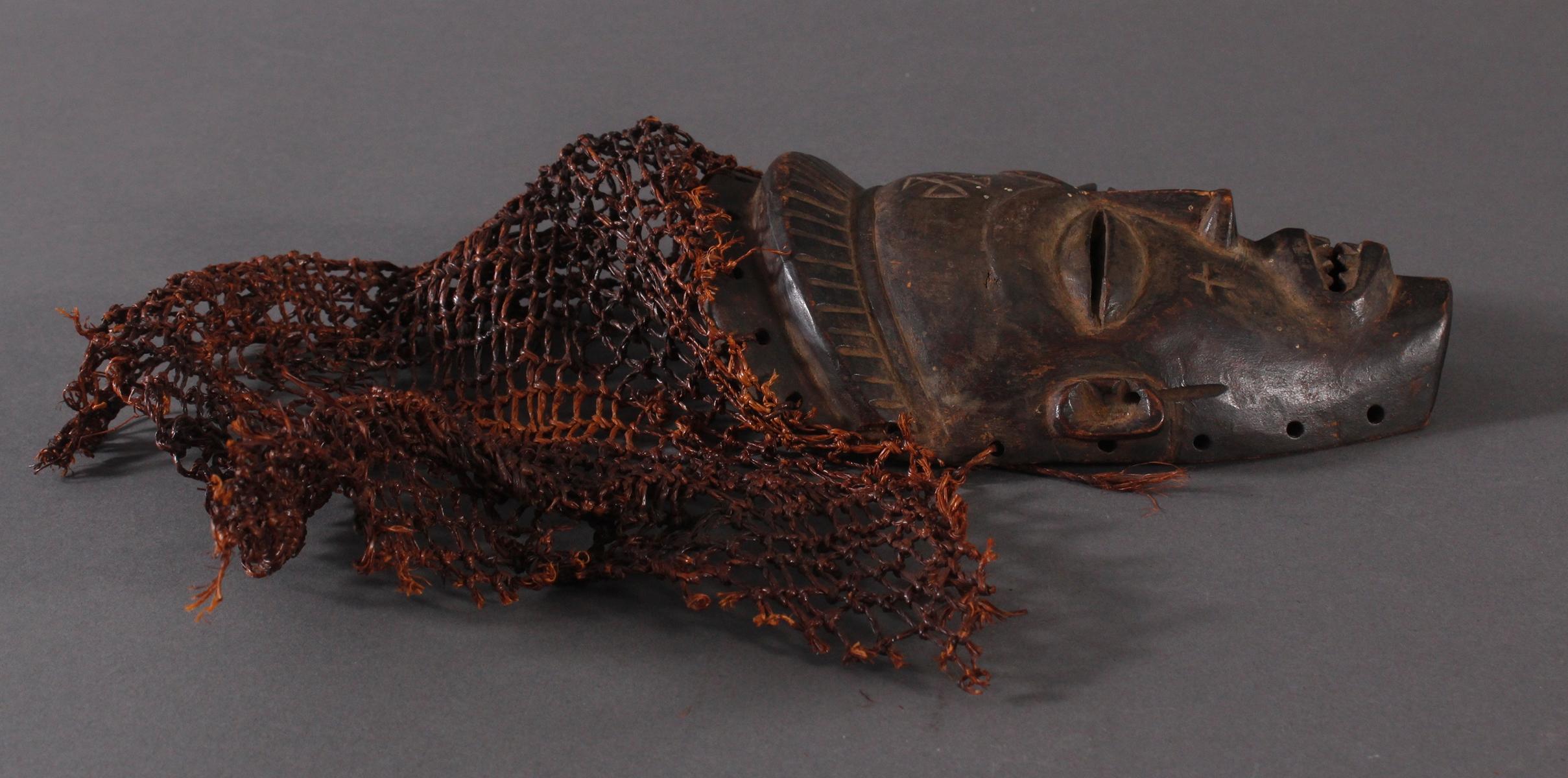 Antike Maske, Chokwe, Kongo-2