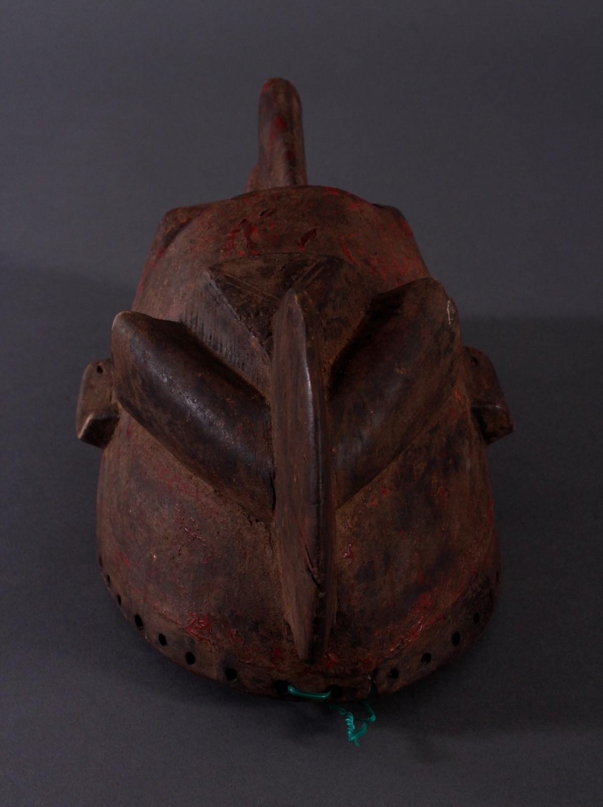 Antike Maske, Baule, Elfenbeinküste-5