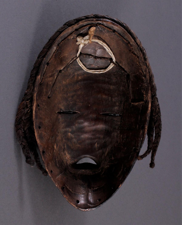 Antike Maske der Dan, Liberia-4