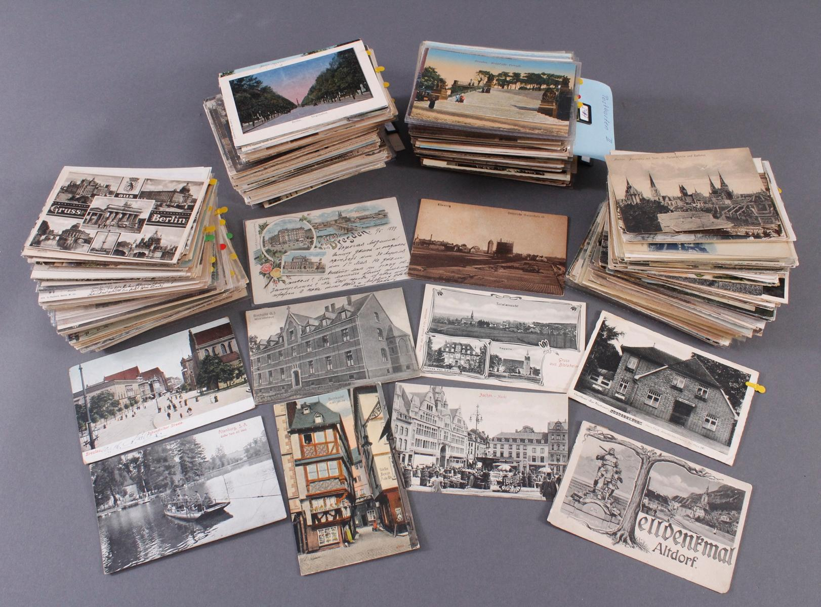 Ca. 700 Postkarten