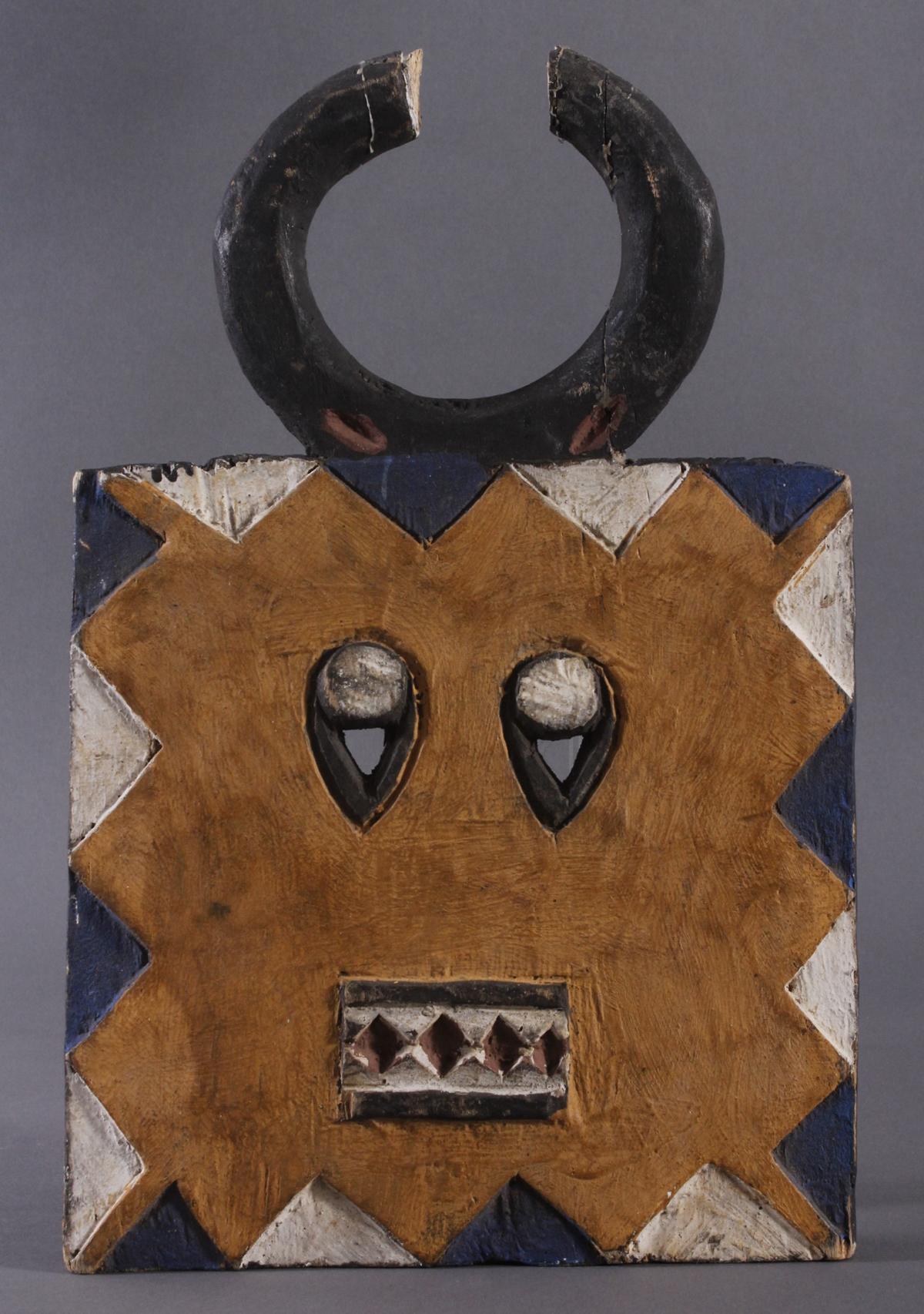 Antike Maske der Baule, Elfenbeinküste 1. Hälfte 20. Jh.
