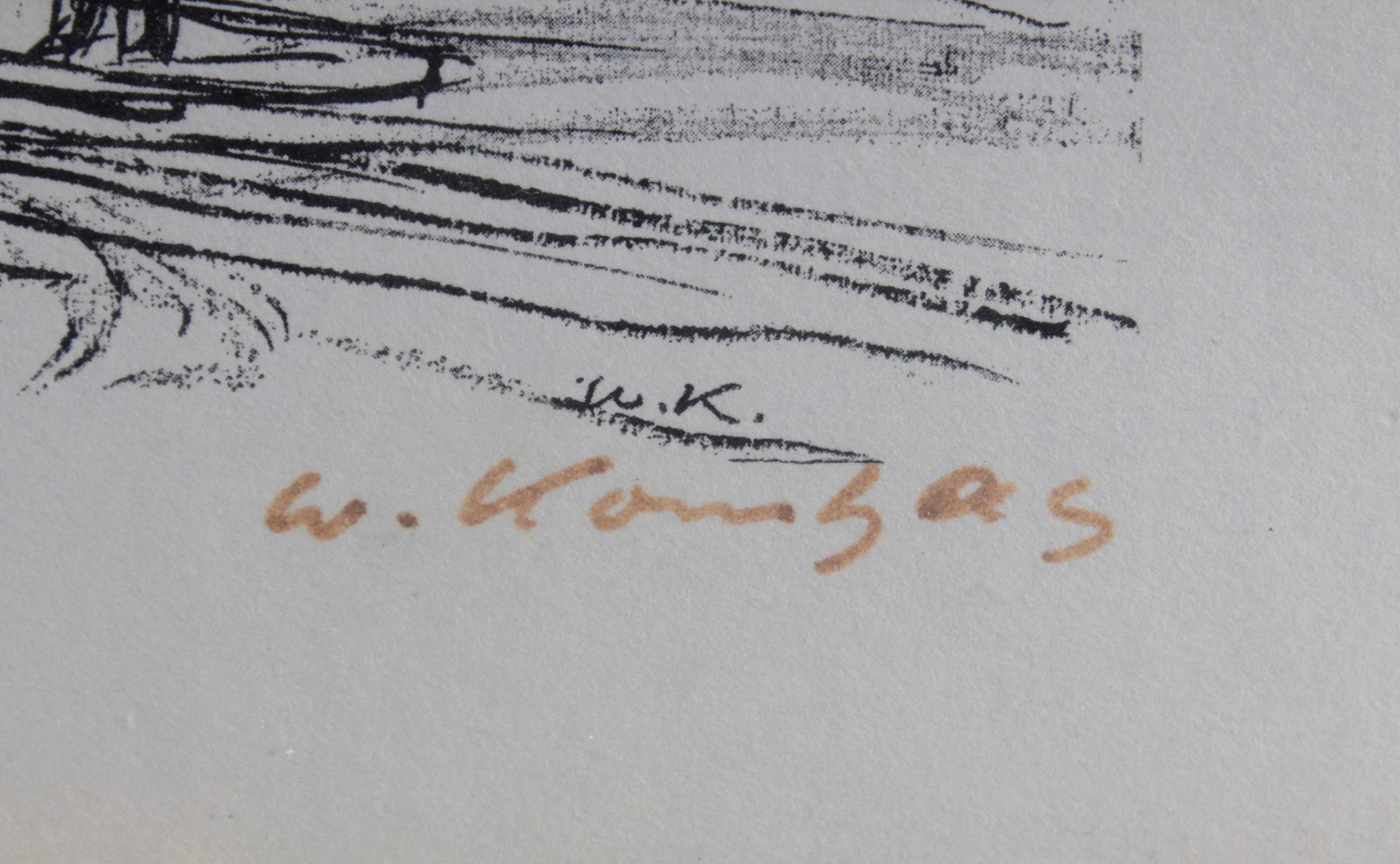 Werner Kornhas (1910-1992), 8 verschiedene Karlsruher Ansichten-10