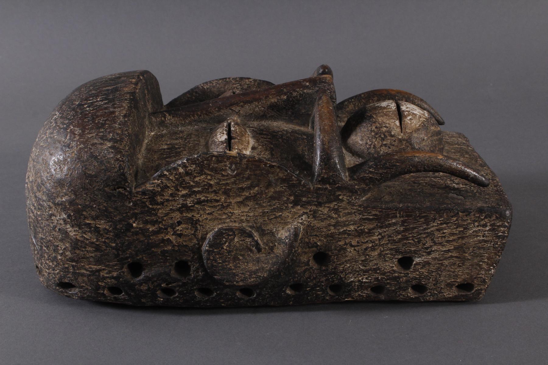 Antike Maske, Ngere, Liberia-2