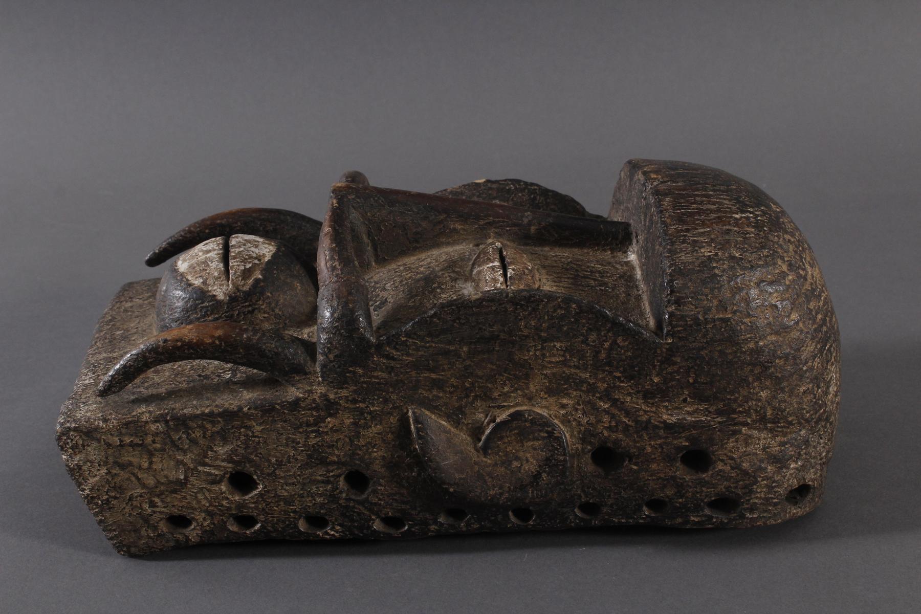 Antike Maske, Ngere, Liberia-3