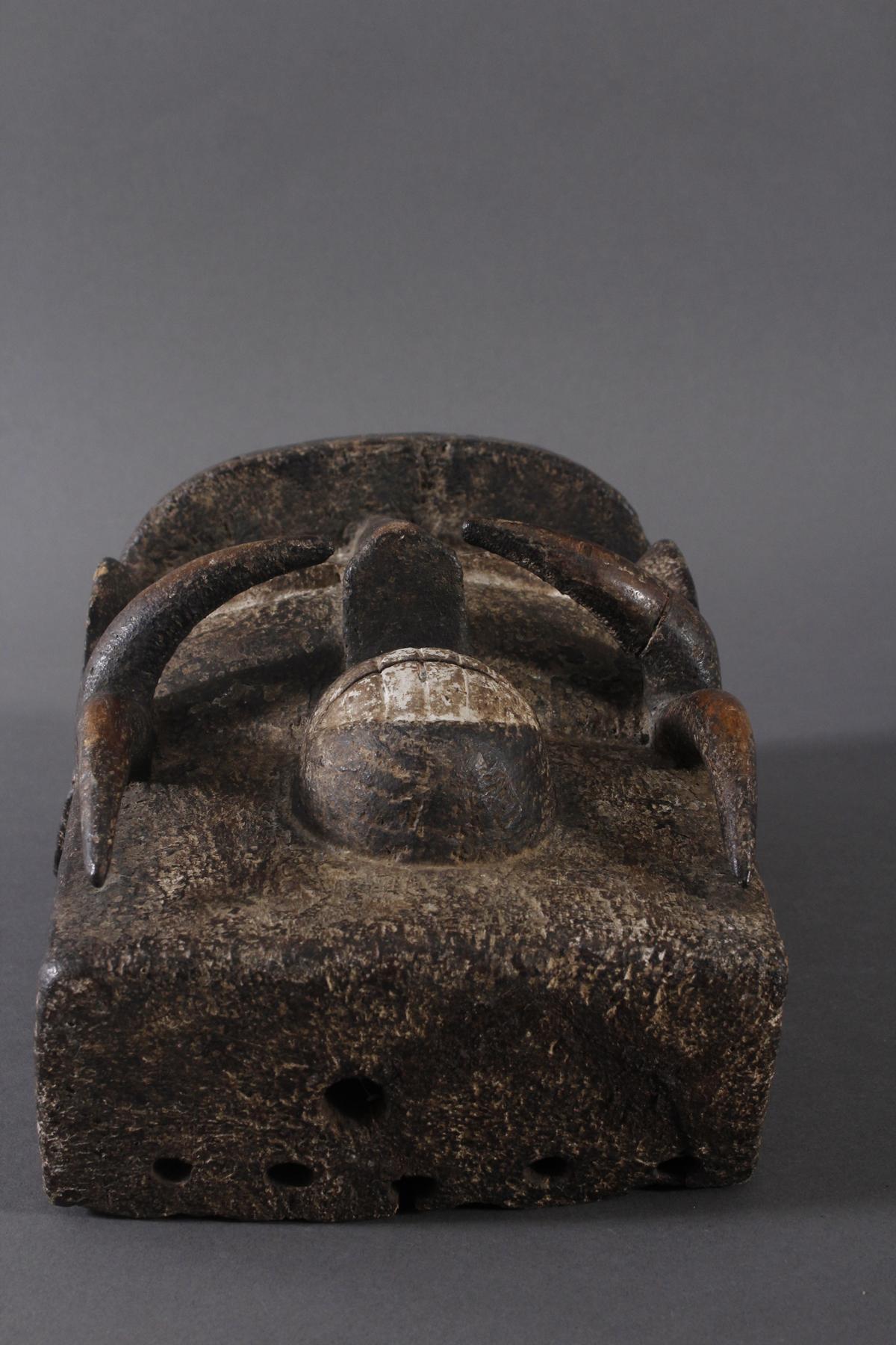Antike Maske, Ngere, Liberia-4