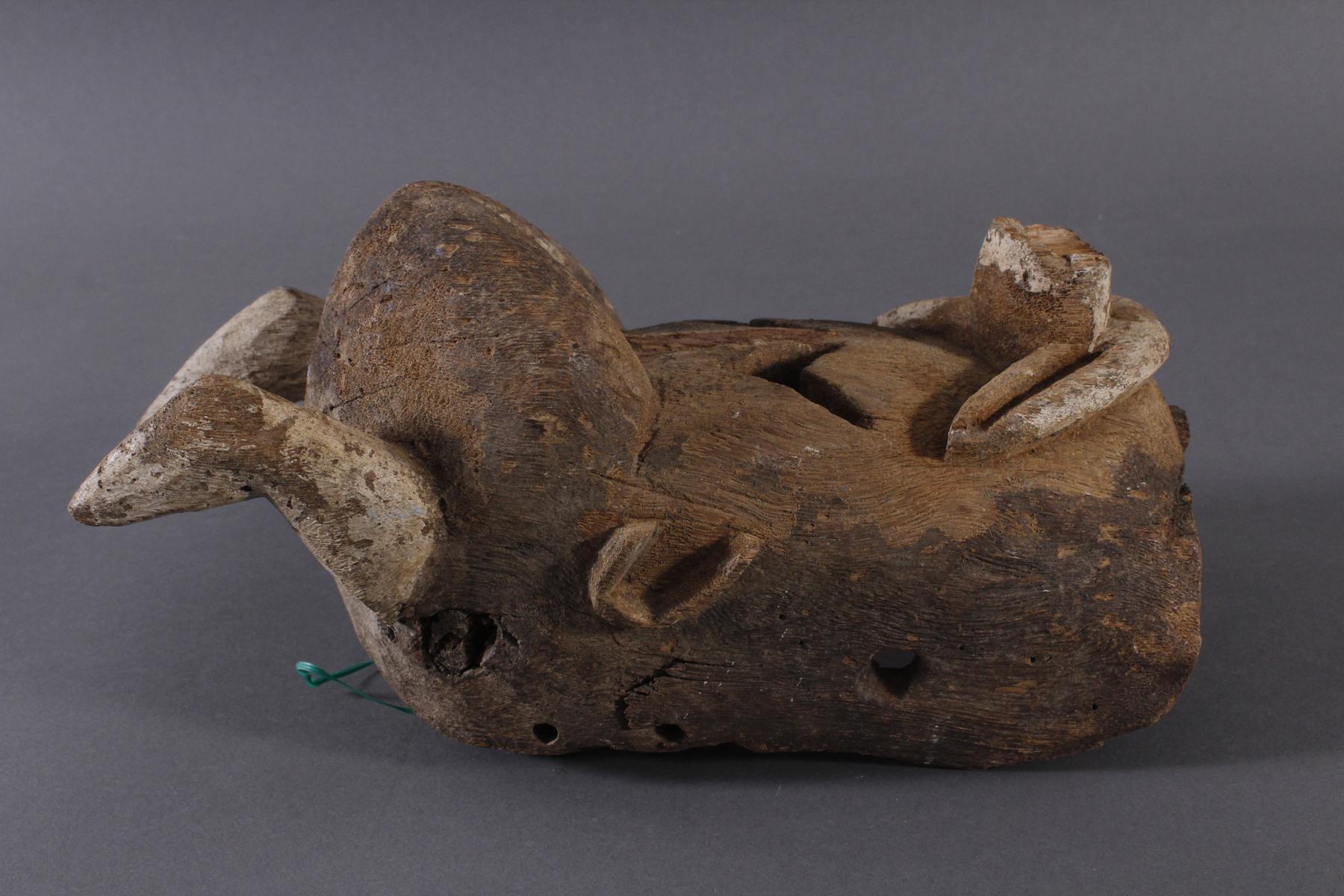 Antike Maske, Mossi, Burkina Faso 1. Hälfte 20. Jh.-2