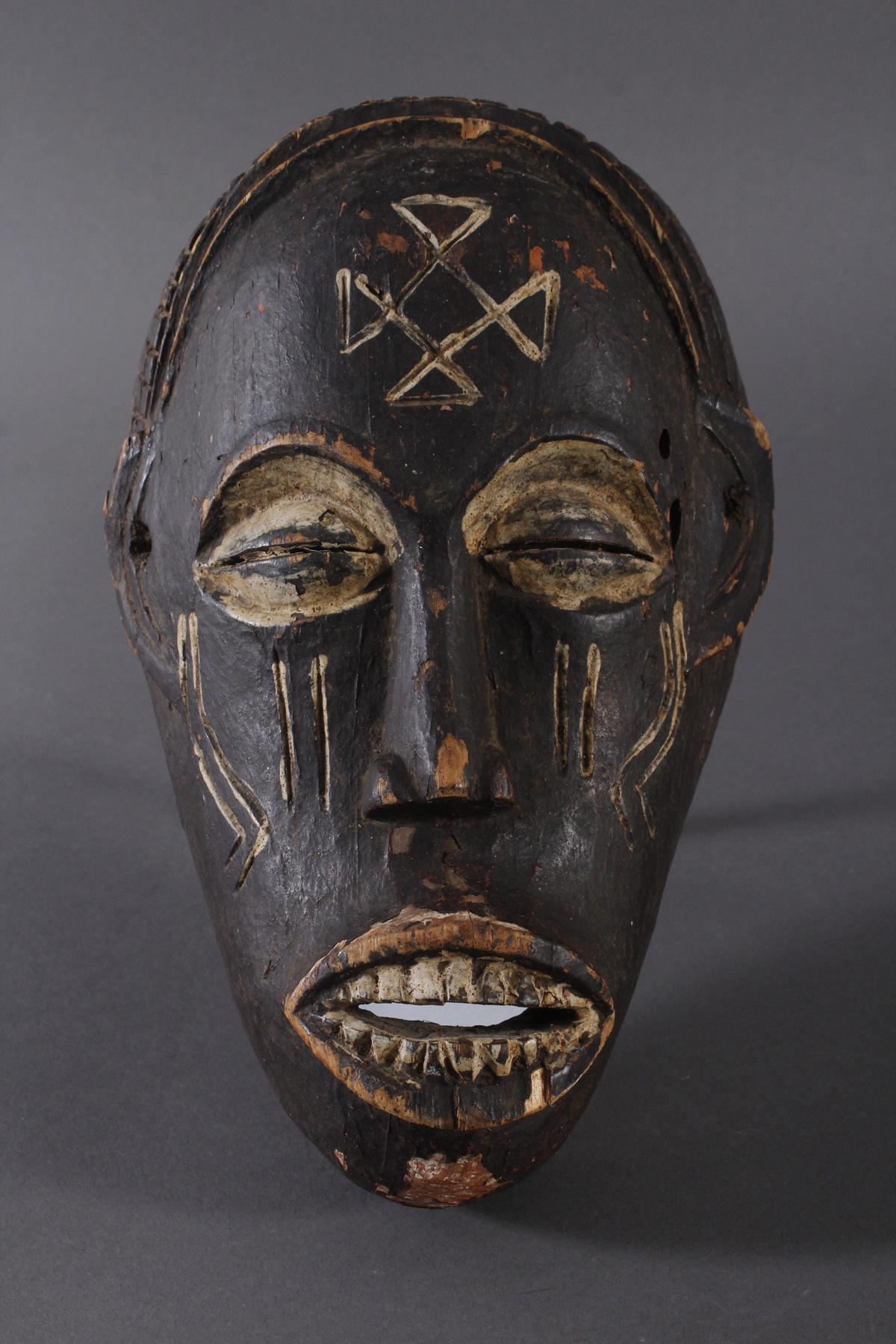 Antike Maske, Chokwe, Angola