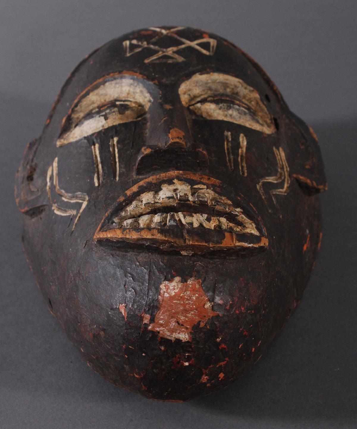 Antike Maske, Chokwe, Angola-4