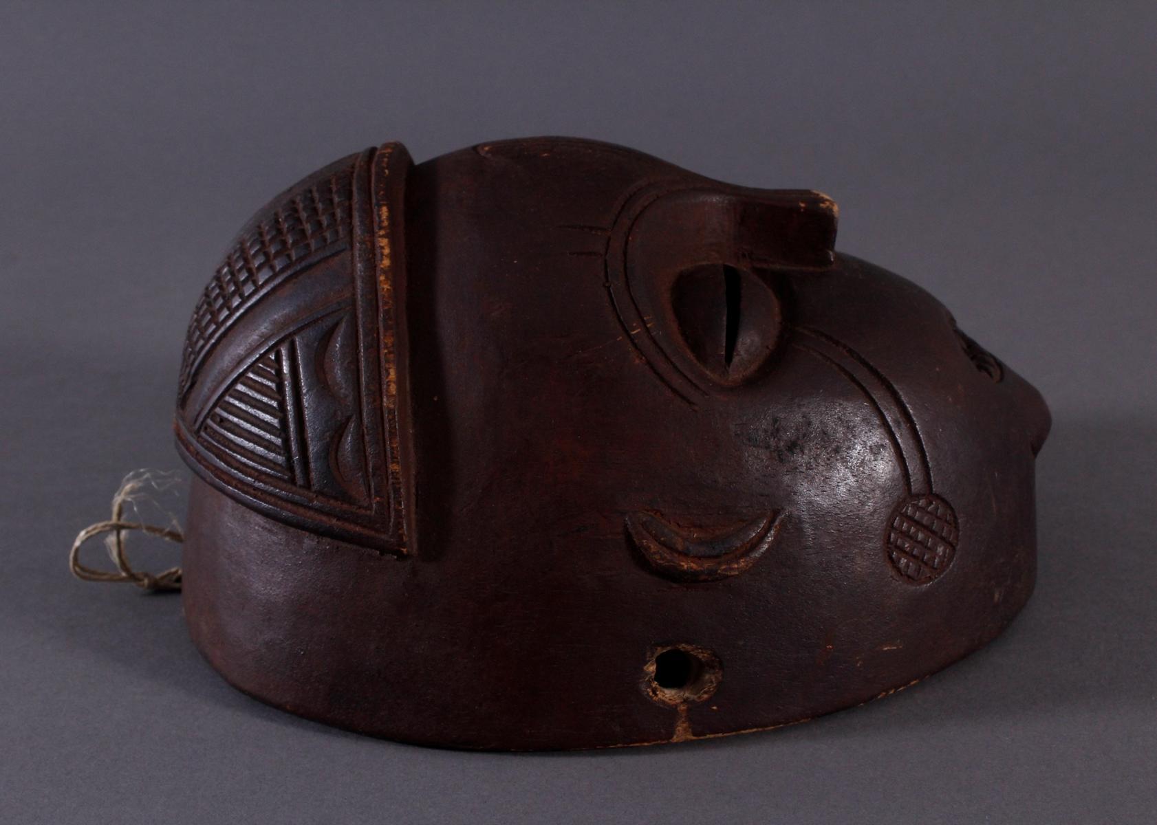 Antike Maske, Mbunda, Sambia-2