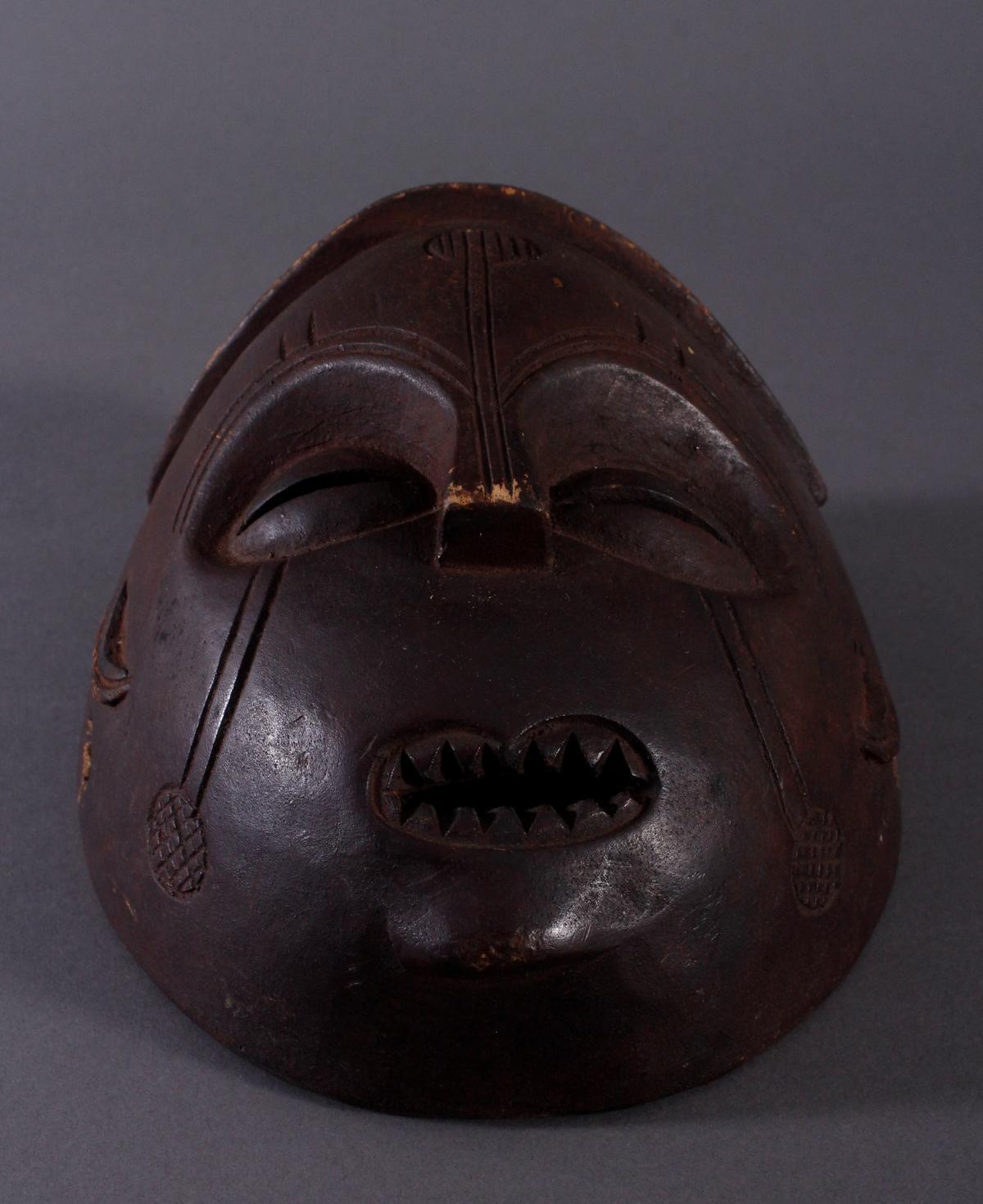 Antike Maske, Mbunda, Sambia-4
