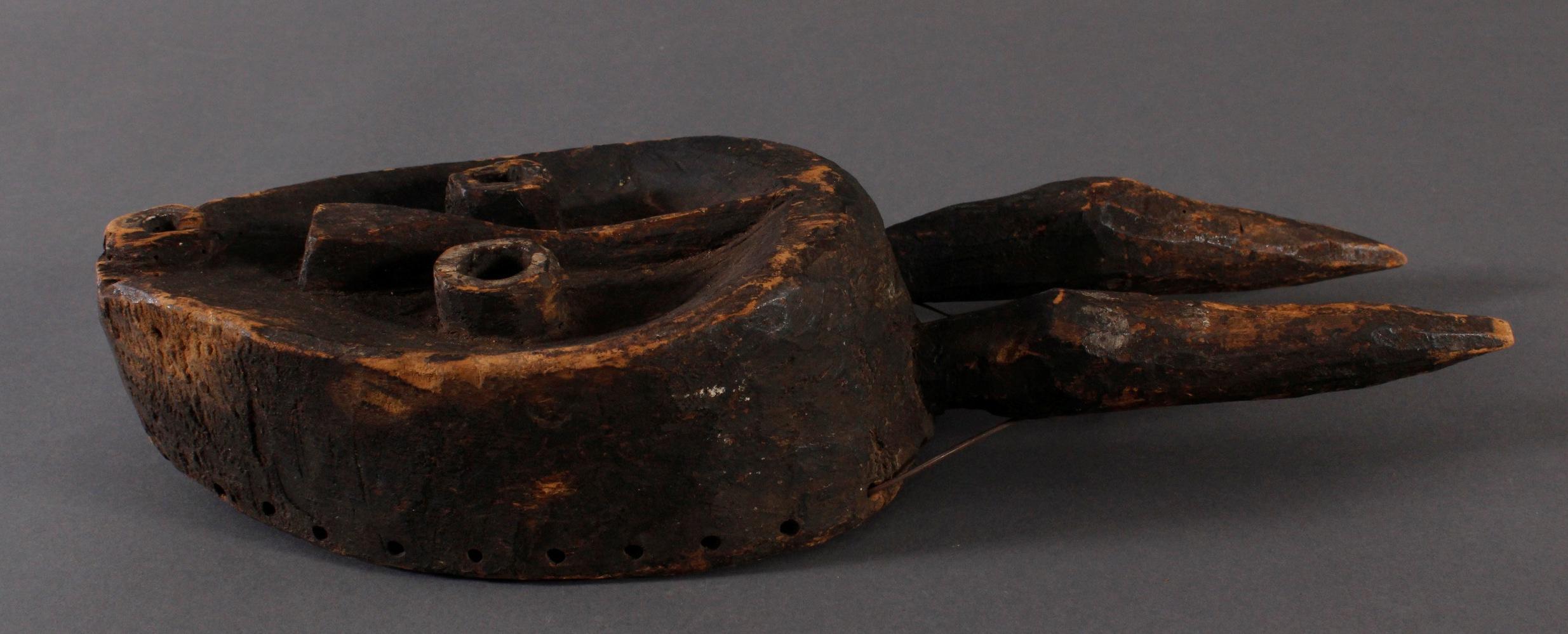 Antike Maske, Ost-Pende, Zaire-3