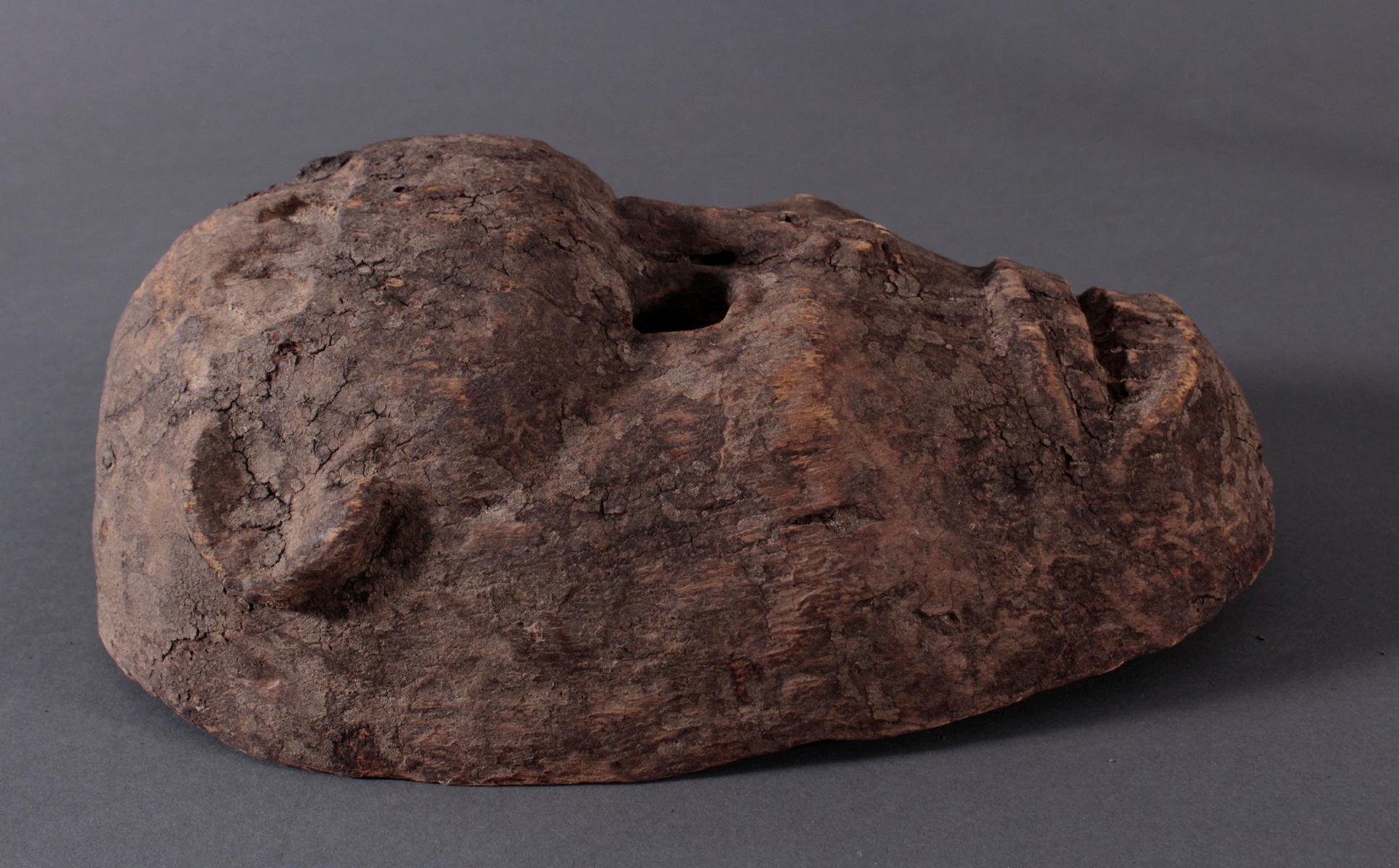 Antike Zoomorphe Maske, Makua, Tansania-2