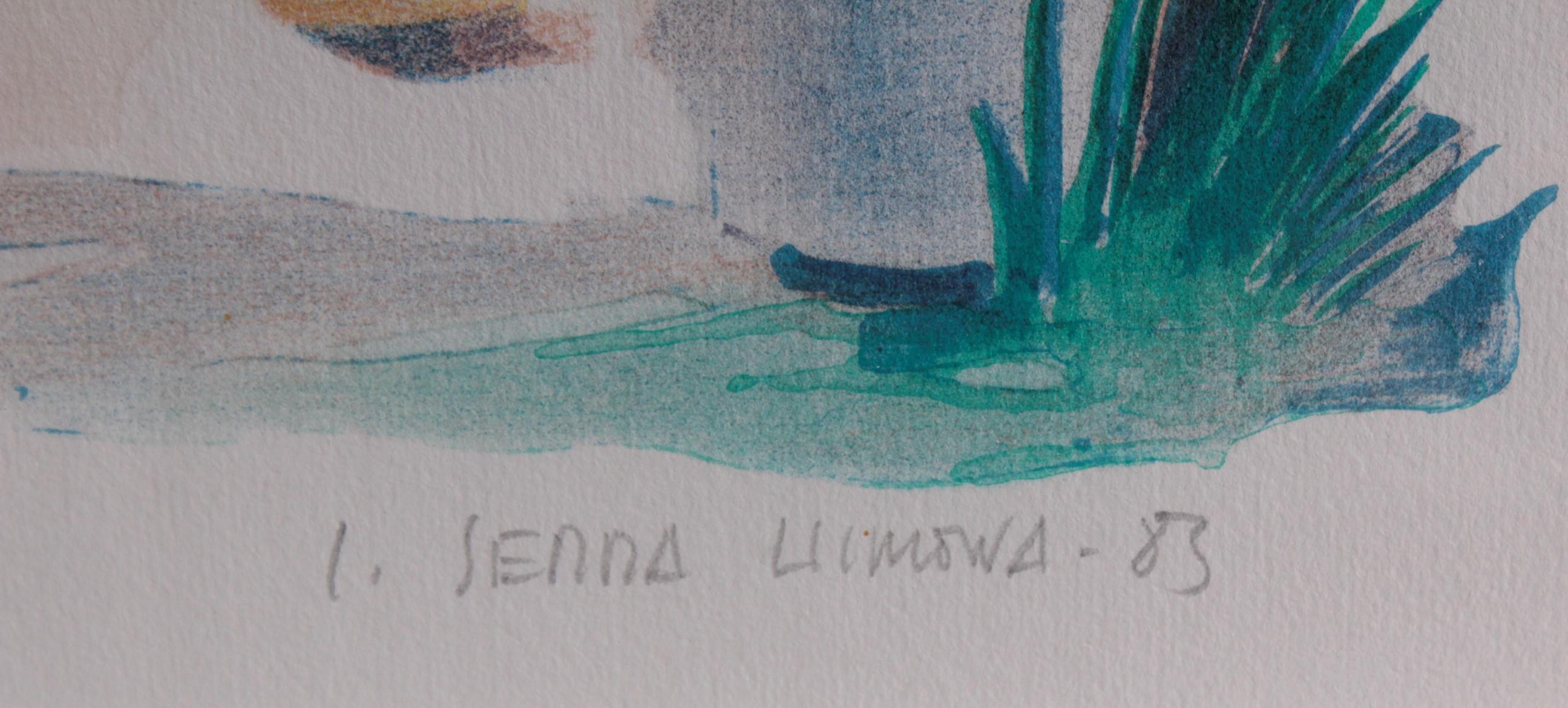 Josep Serra Llimona (1937). Schattenplätzchen-3