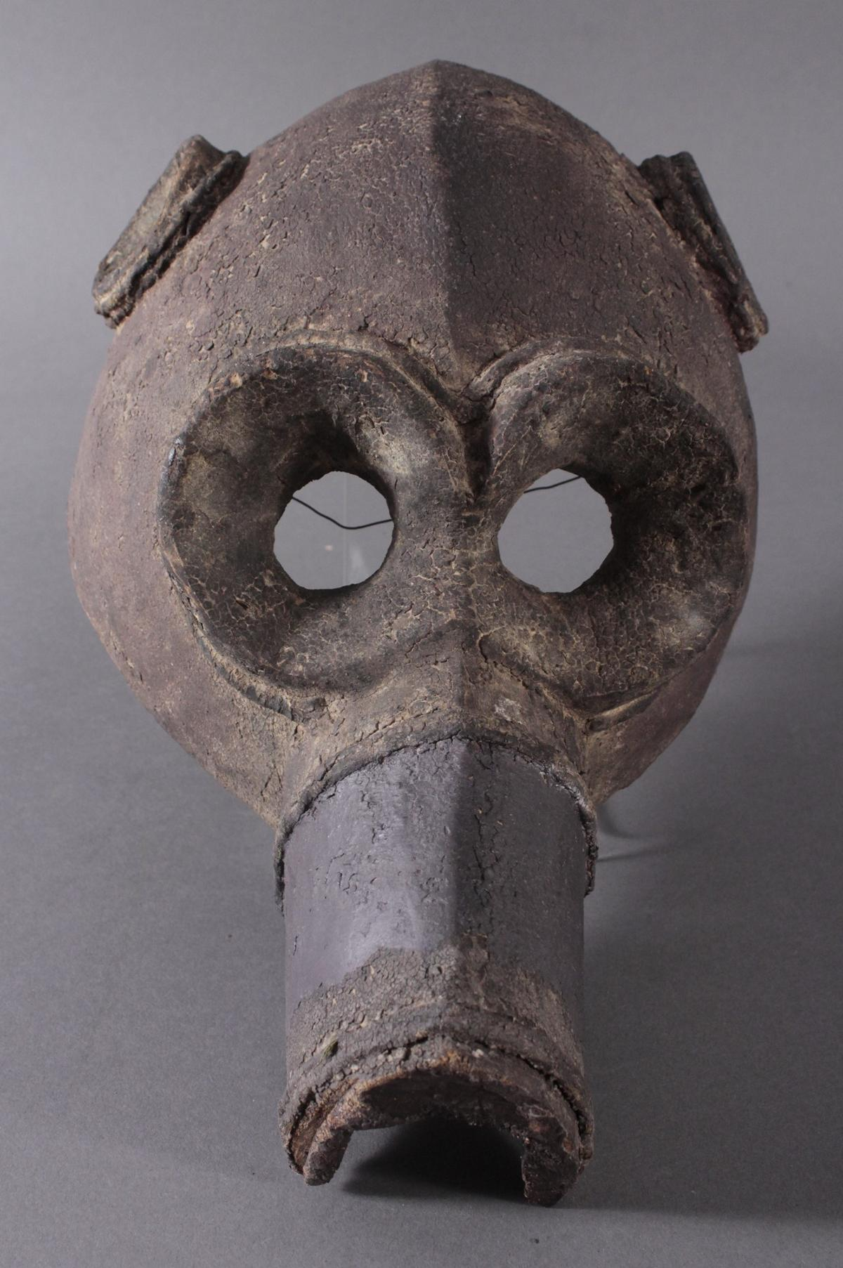 Antike Große Zoomorphe Maske. Selten