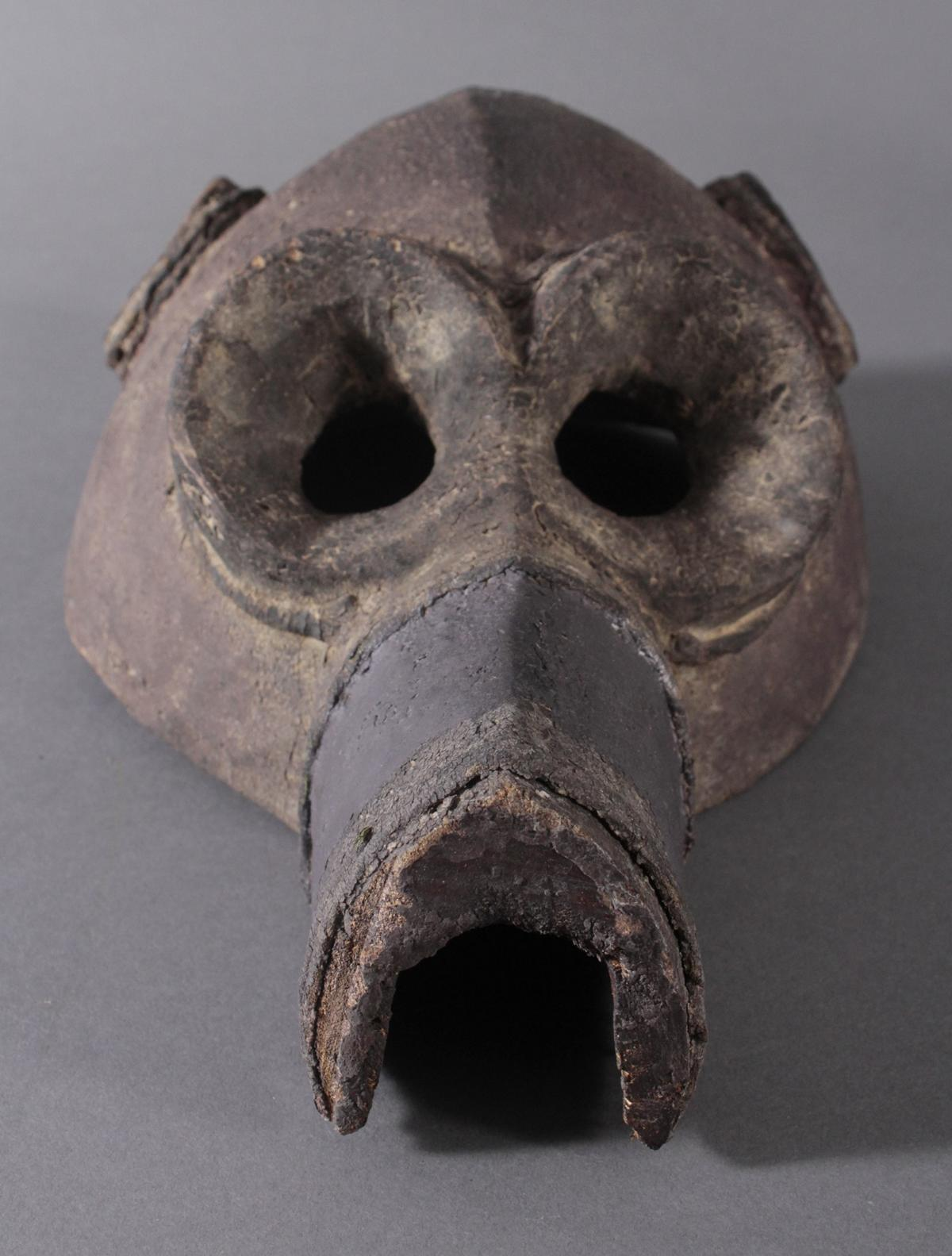 Antike Große Zoomorphe Maske. Selten-4