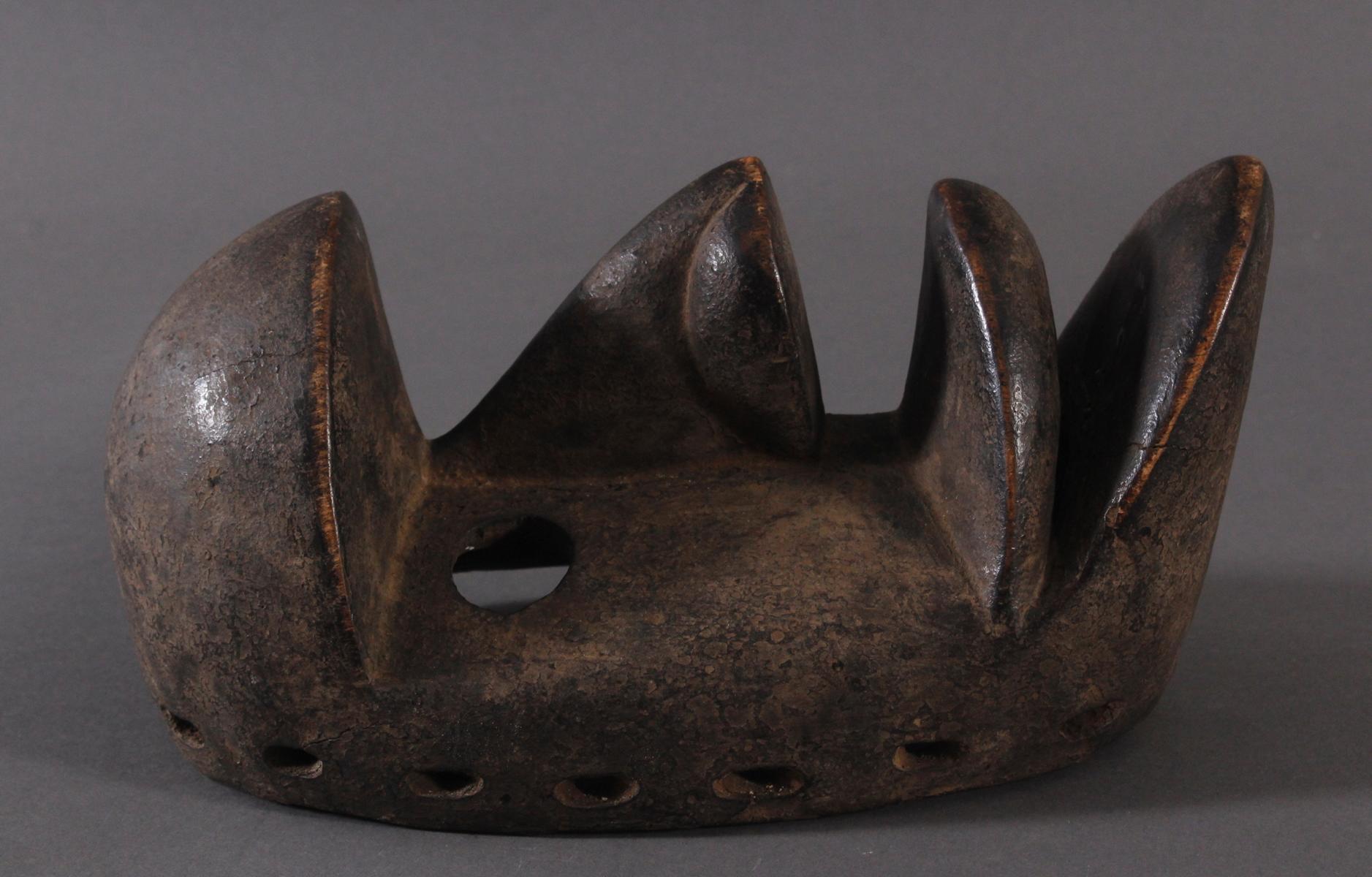 Antike Maske der Dan-Kran, Elfenbeinküste 1. Hälfte 20. Jh.-2