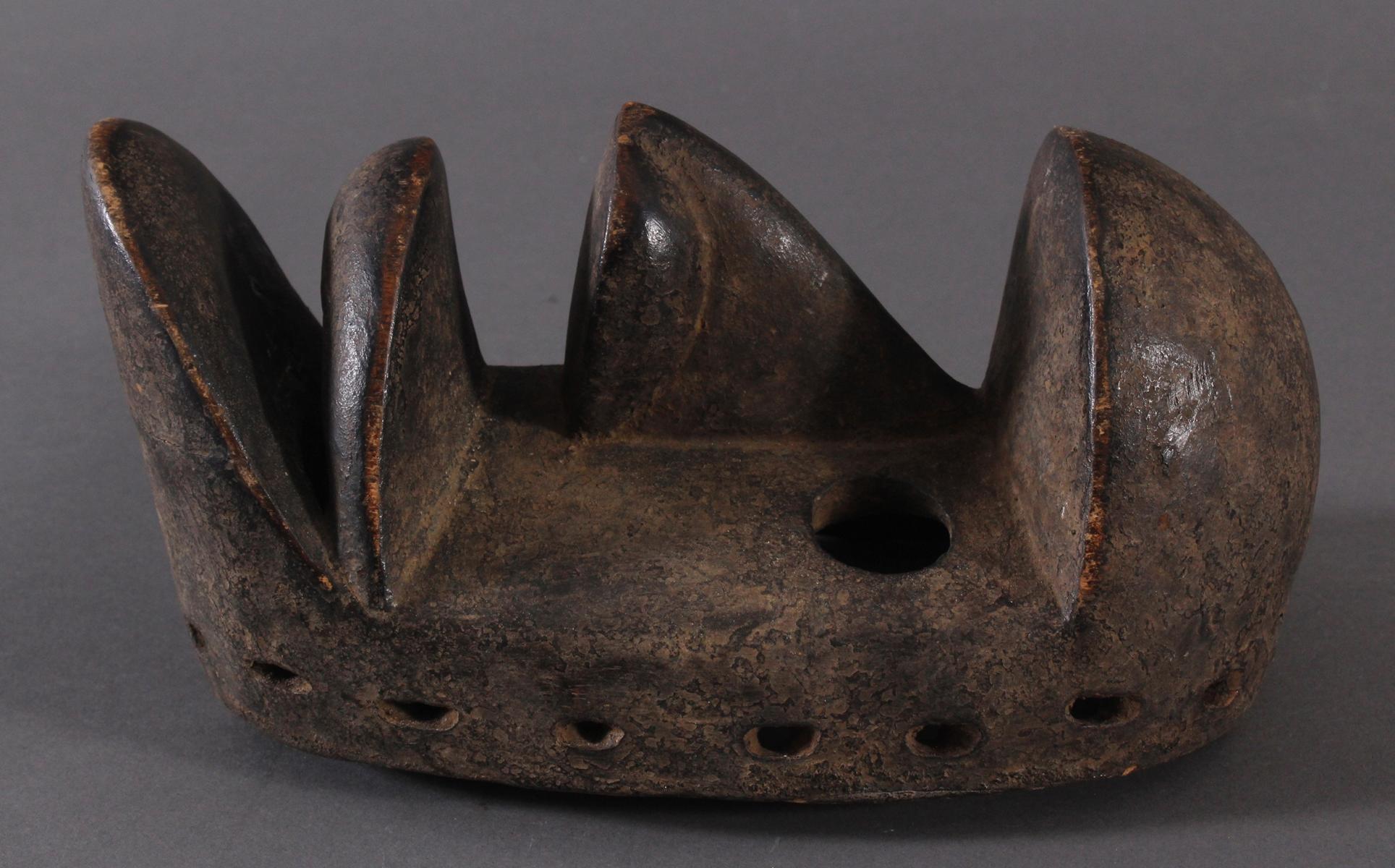 Antike Maske der Dan-Kran, Elfenbeinküste 1. Hälfte 20. Jh.-3