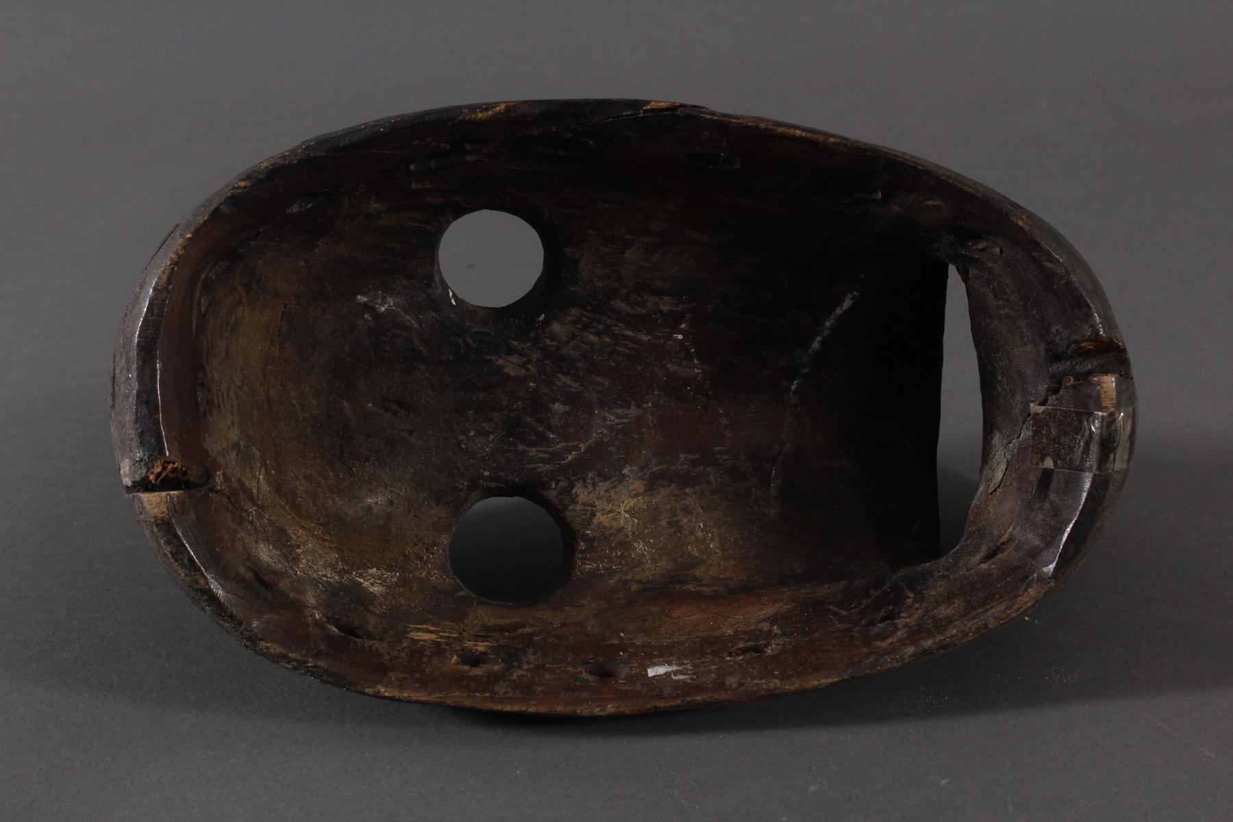 Antike Maske der Dan-Kran, Elfenbeinküste 1. Hälfte 20. Jh.-4