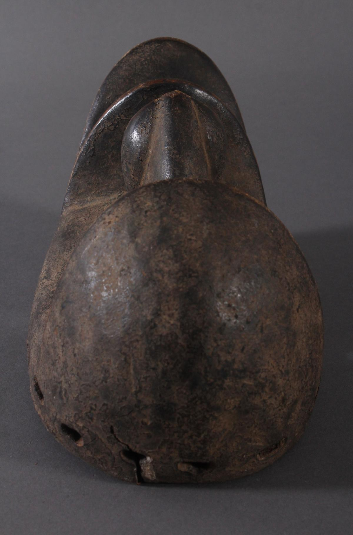 Antike Maske der Dan-Kran, Elfenbeinküste 1. Hälfte 20. Jh.-6