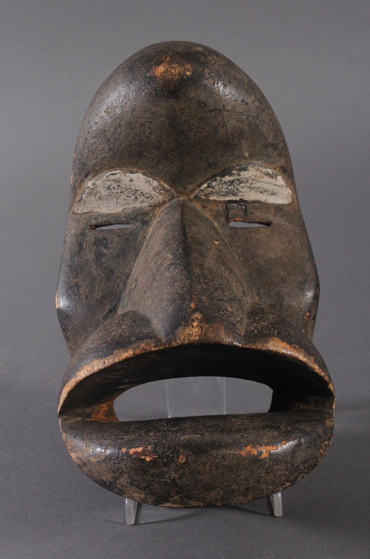 Antike Maske der Dan, Kran, Elfenbeinküste 1. Hälfte 20. Jh.
