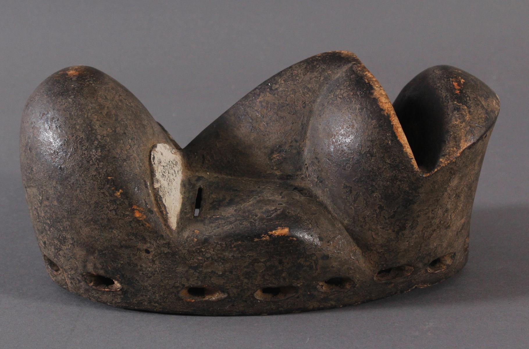 Antike Maske der Dan, Kran, Elfenbeinküste 1. Hälfte 20. Jh.-2