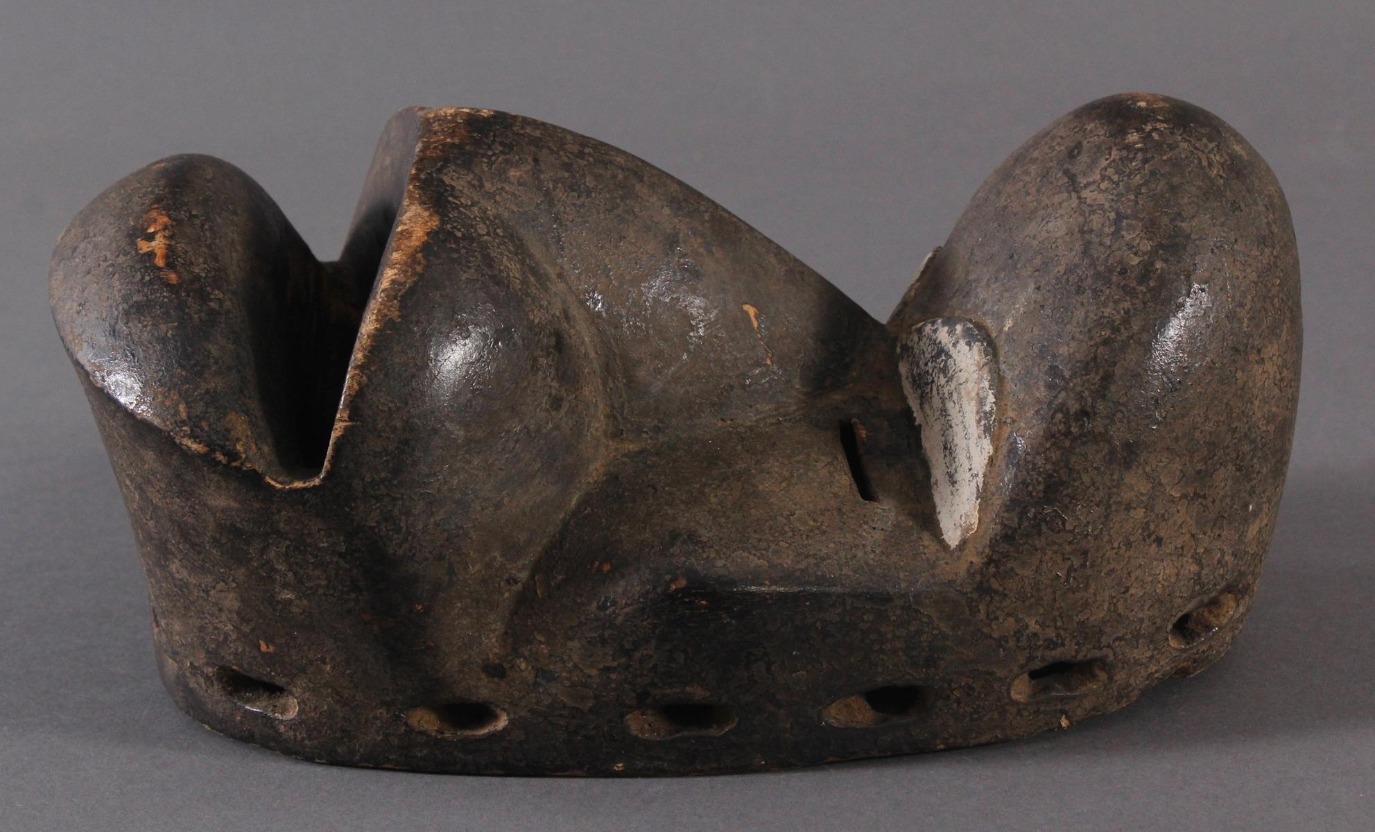 Antike Maske, Dan-Kran, Elfenbeinküste-3