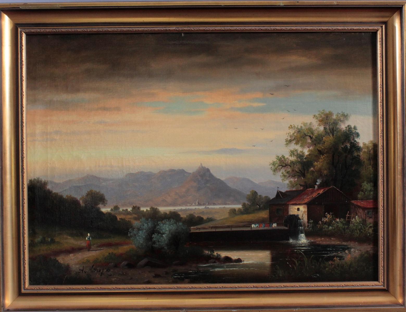 Ölgemälde 19. Jahrhundert