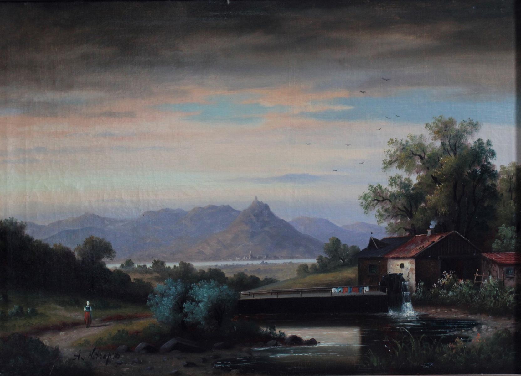 Ölgemälde 19. Jahrhundert-2