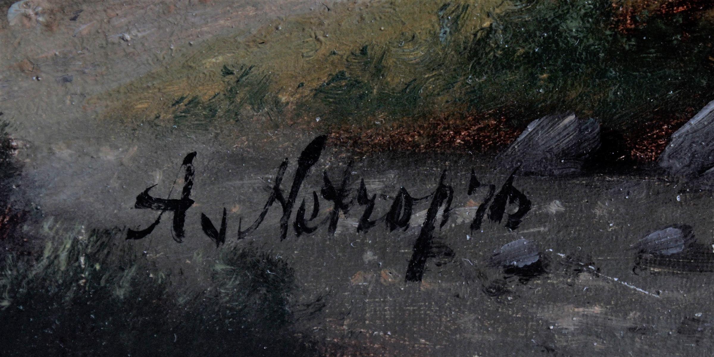 Ölgemälde 19. Jahrhundert-3