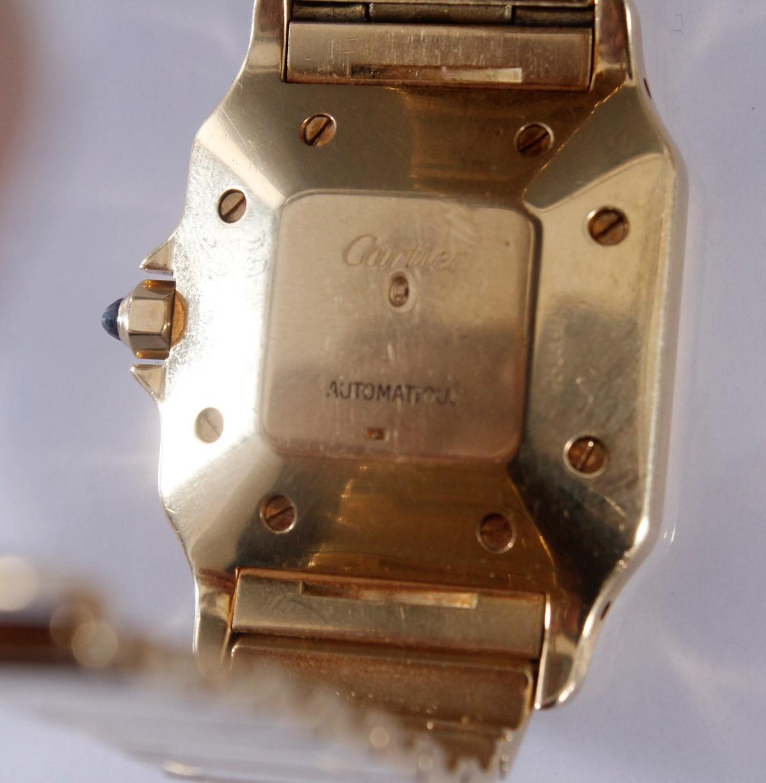Cartier Herrenarmbanduhr Santos-4