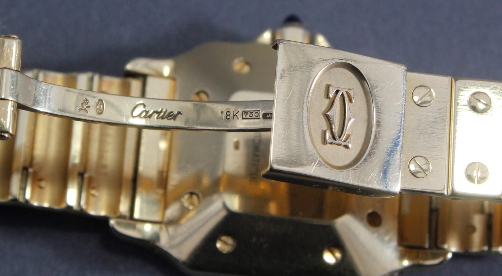 Cartier Herrenarmbanduhr Santos-6